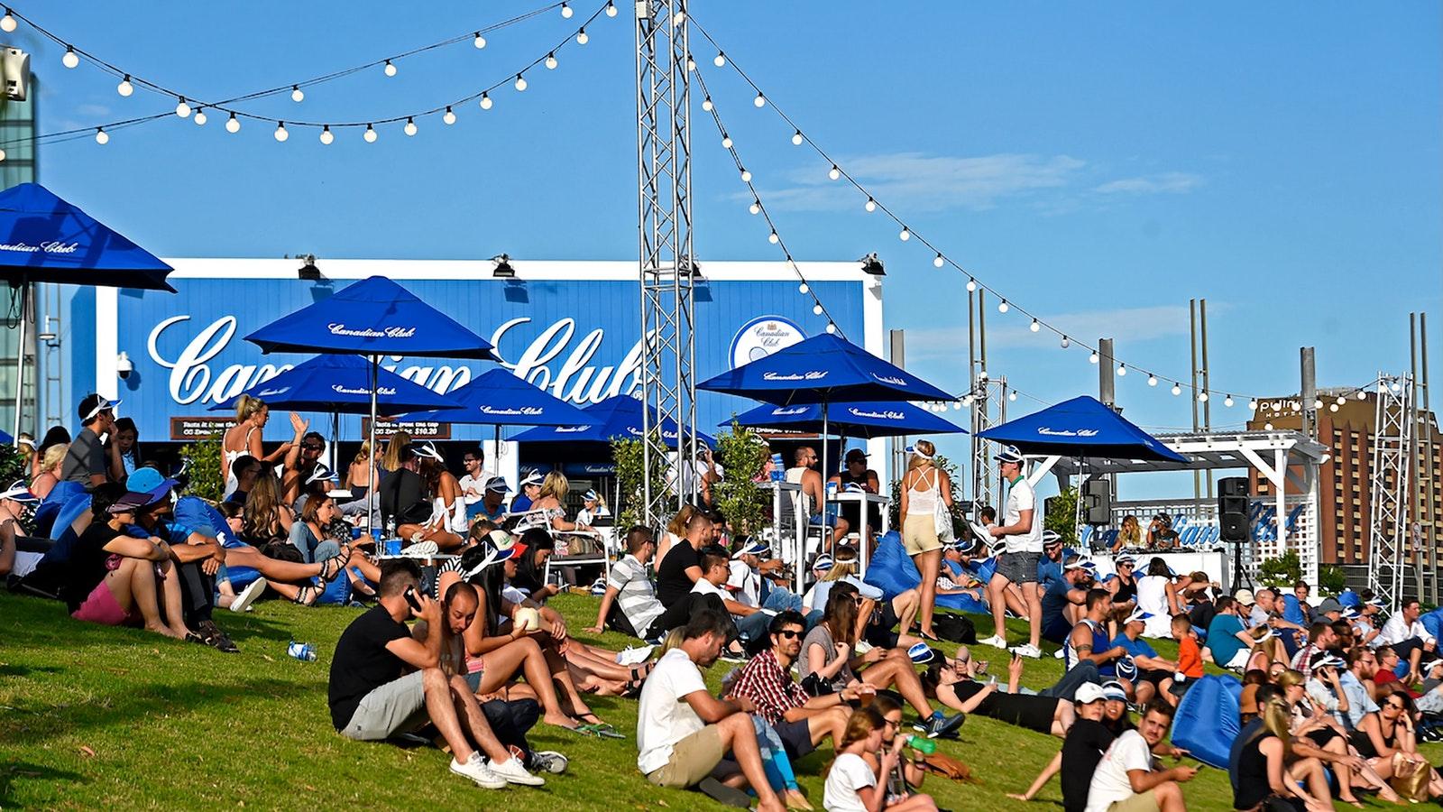Gain free entry to the AO Festival along Melbourne's Birrarung Marr