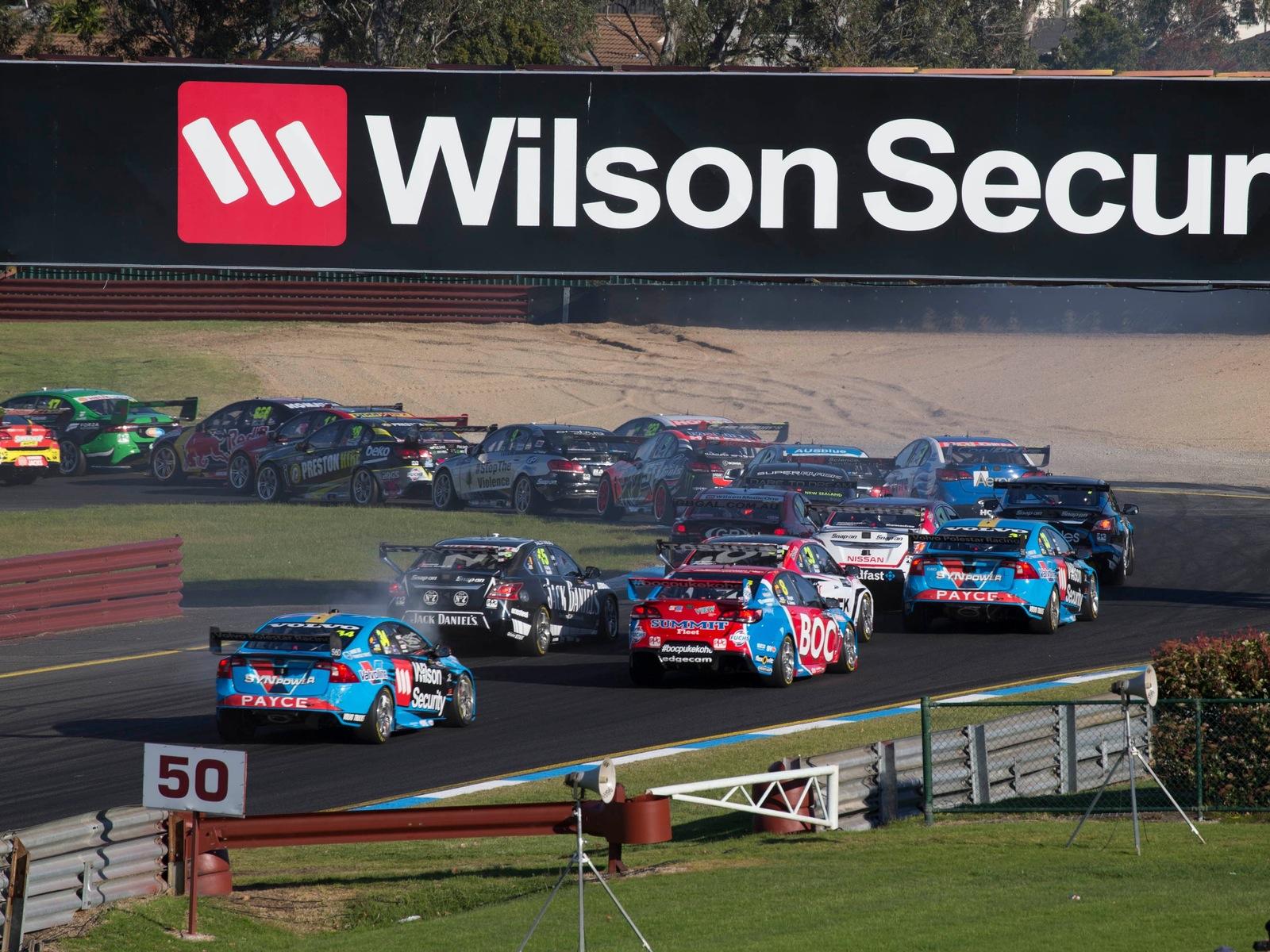 Supercars Wilson Security Sandown 500