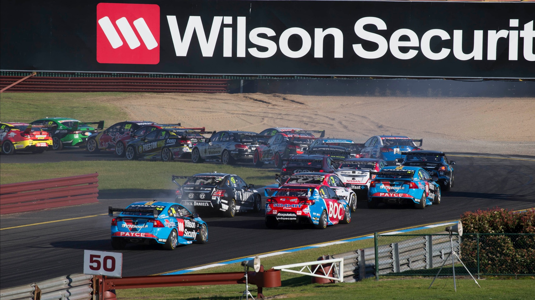 Supercars Wilson Security Sandown 500