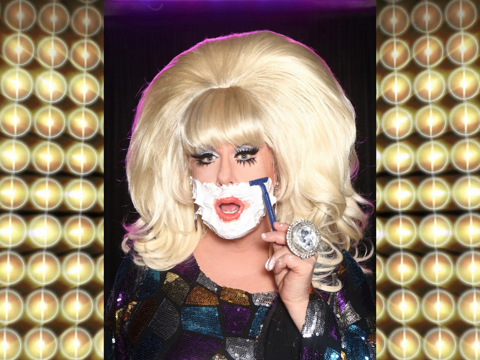 Lady Bunny in Trans-Jester