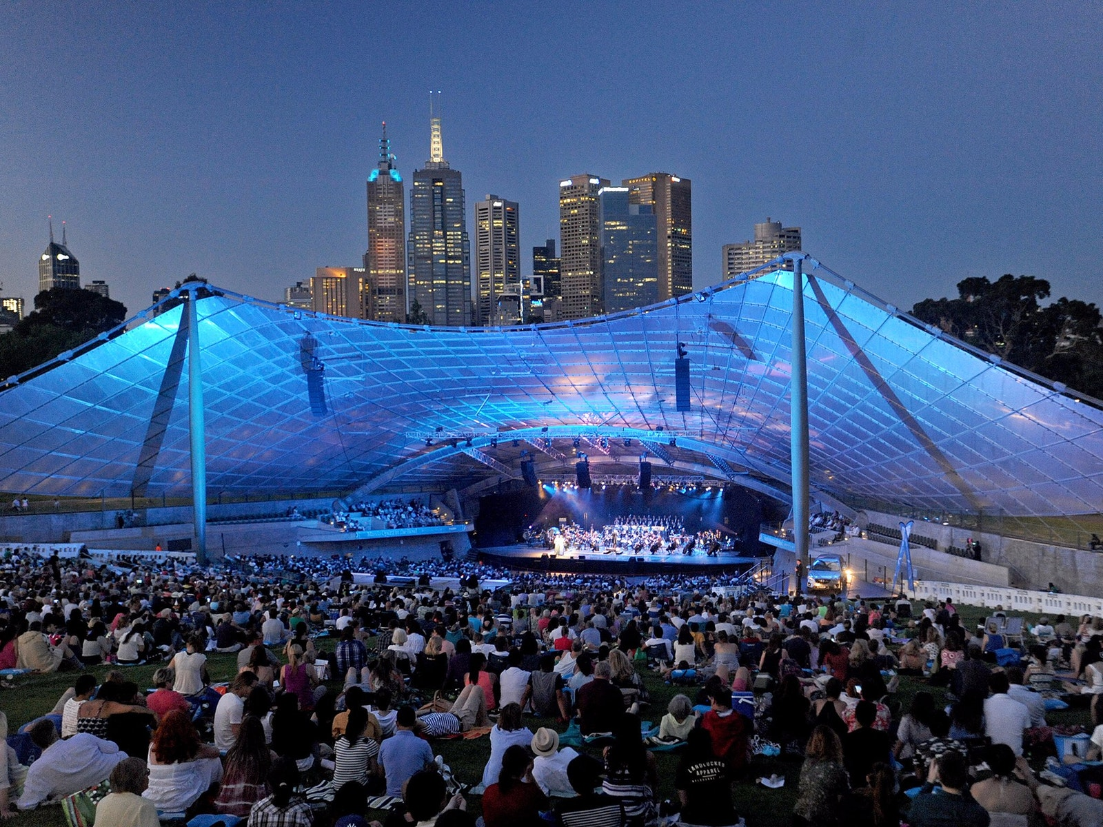 Mazda Opera in the Domain