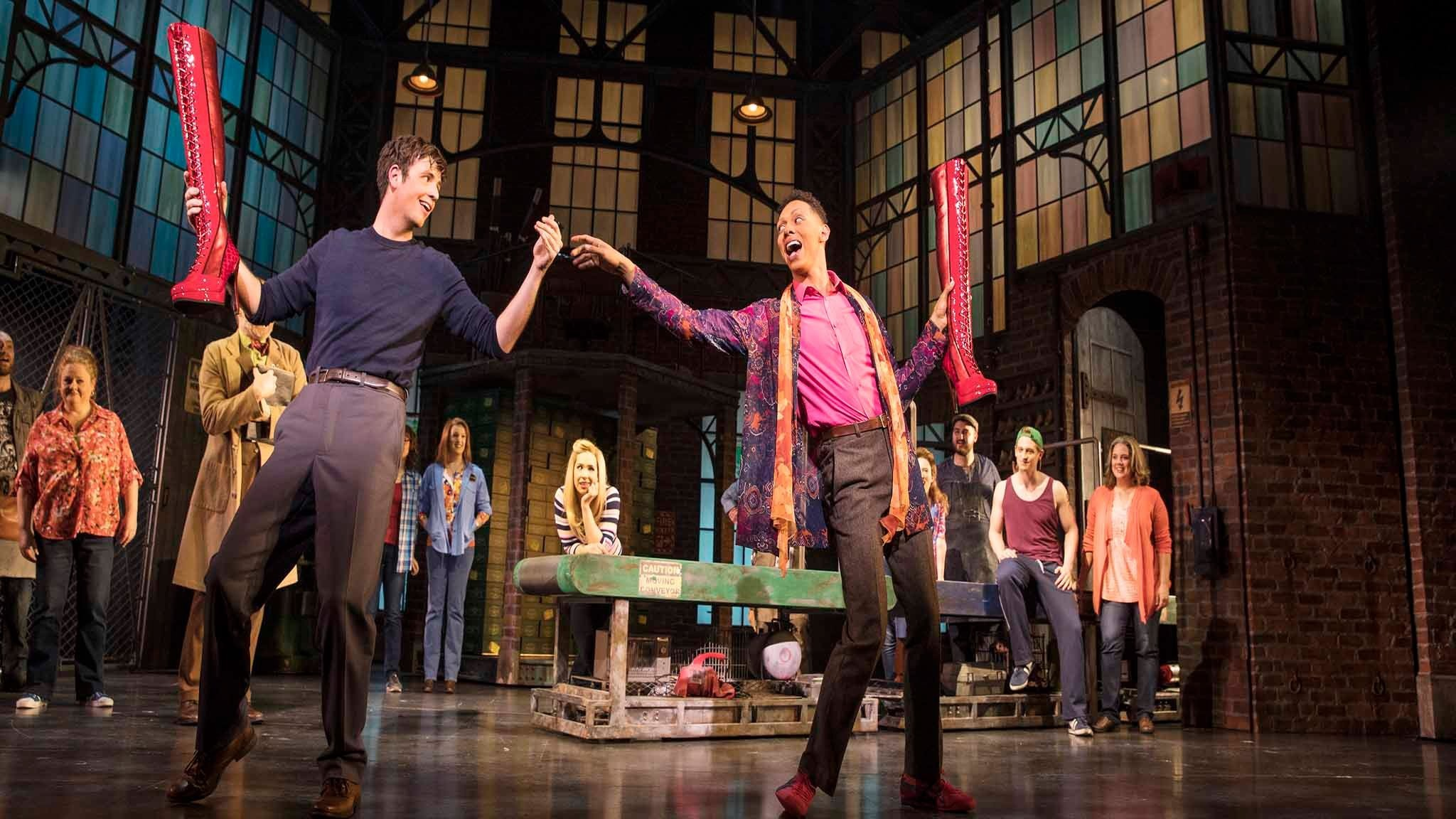 Kinky Boots Australia - Callum Francis and Toby Francis - Everybody Say Yeah