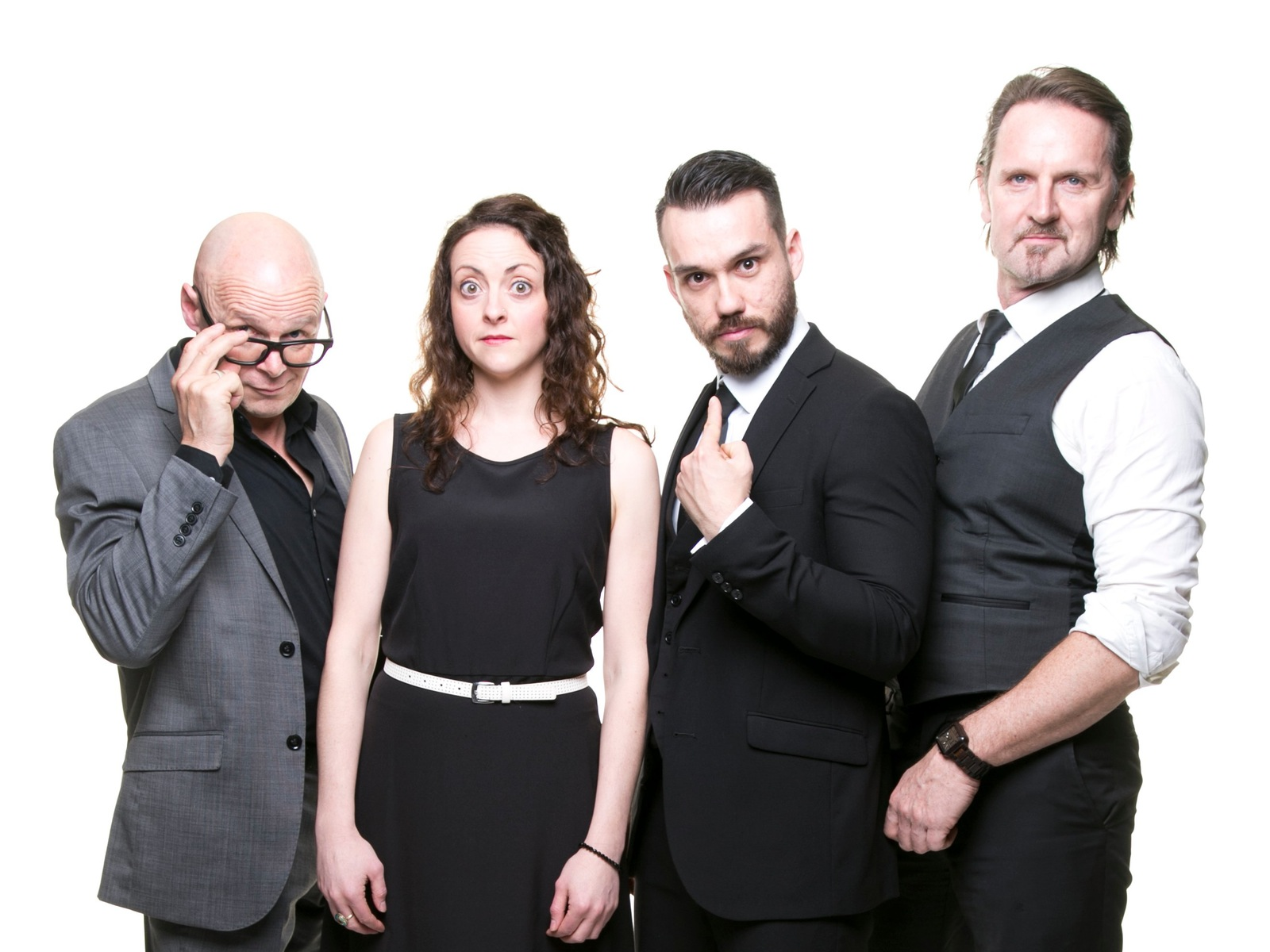 Impro Melbourne performers
