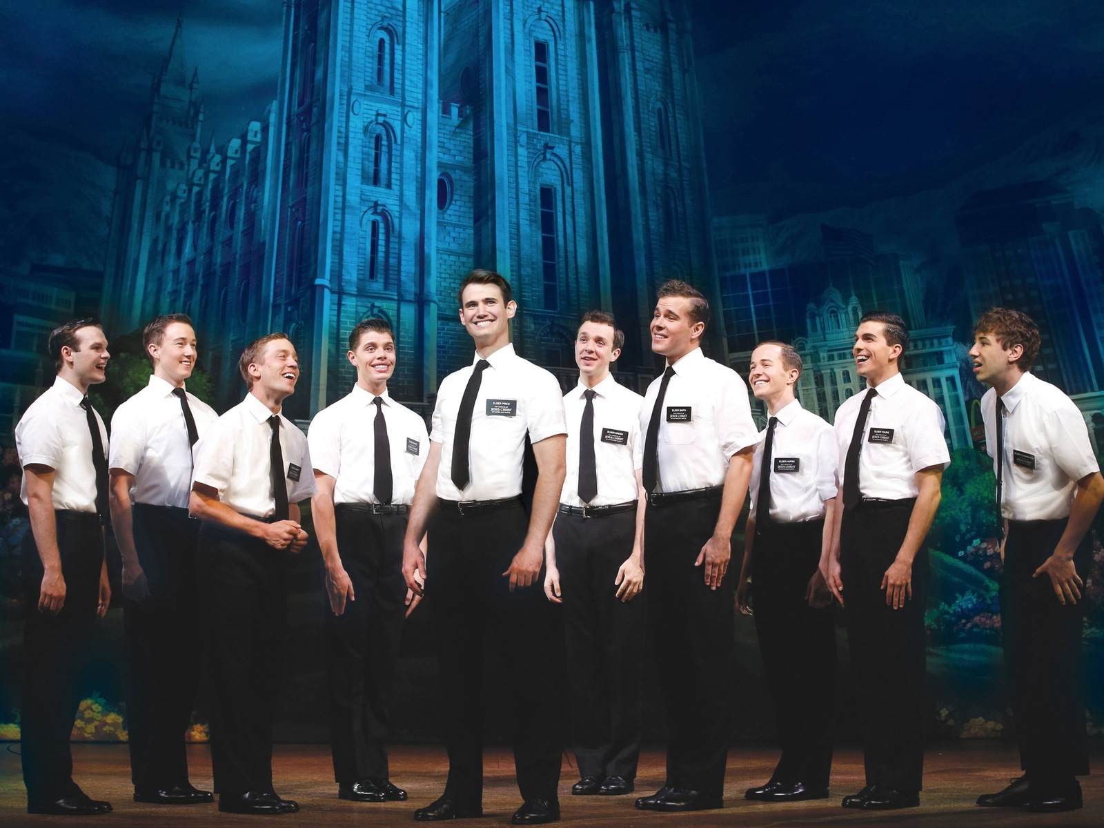 Australian premiere of The Book of Mormon. Credit: Jeff Busby