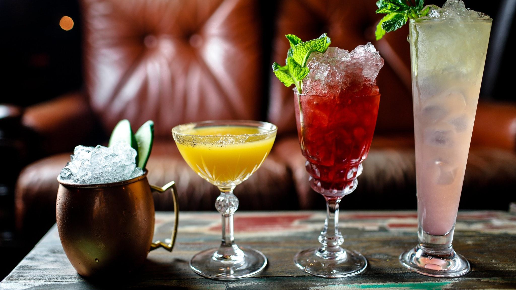 A unique cocktail selection