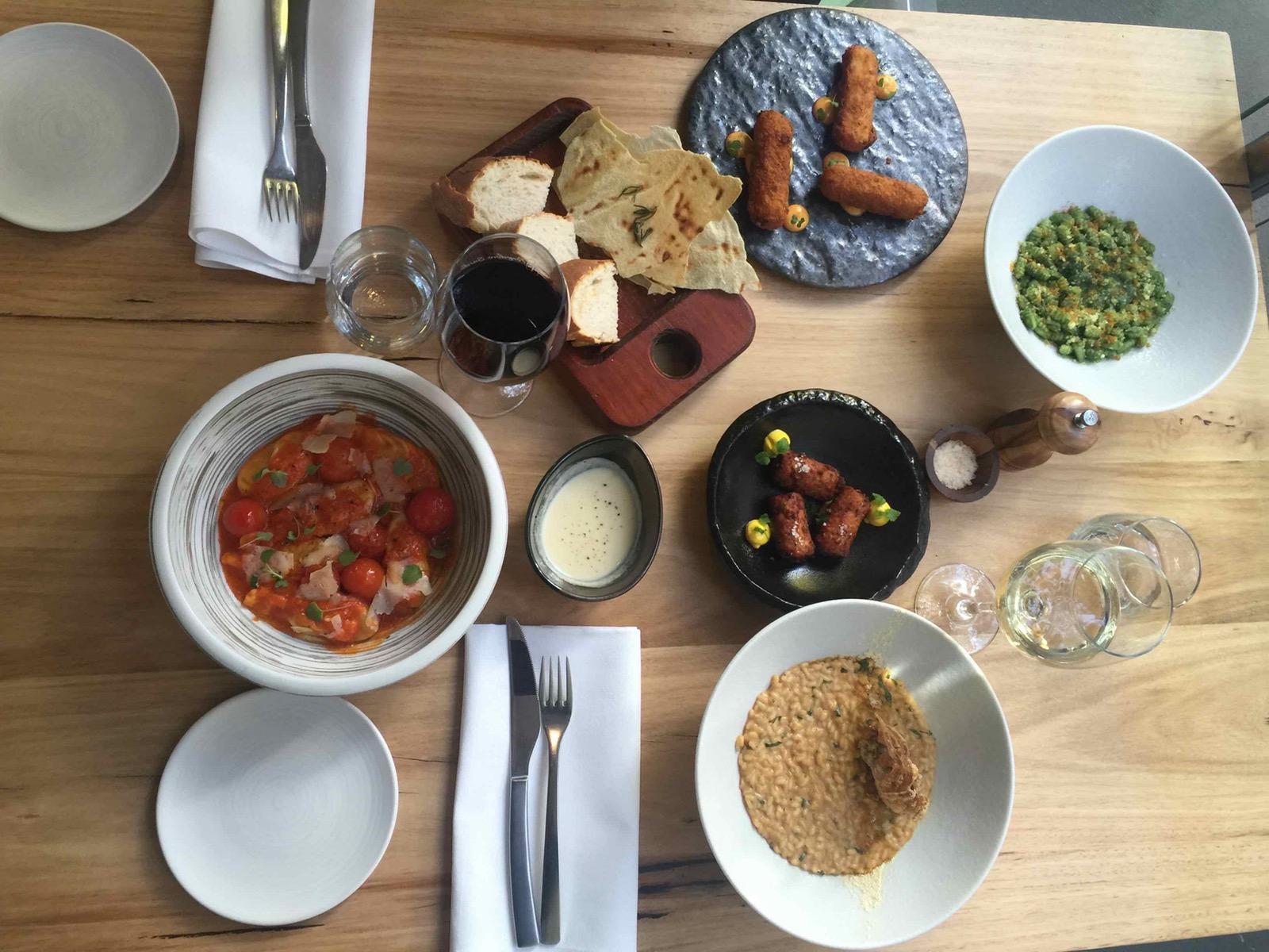 A mix of meals - Pomodoro Sardo
