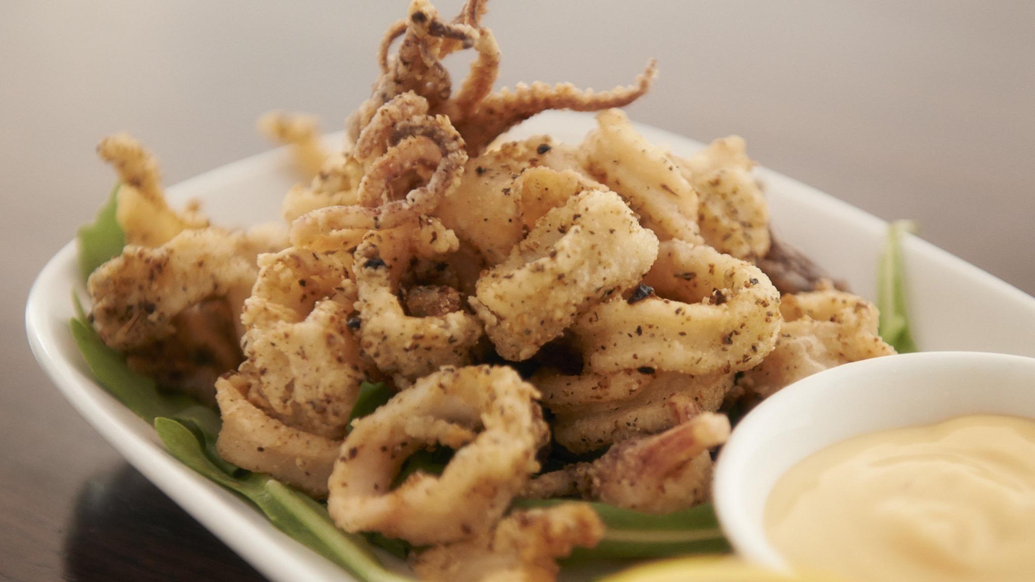 Crispy Salty Calamari