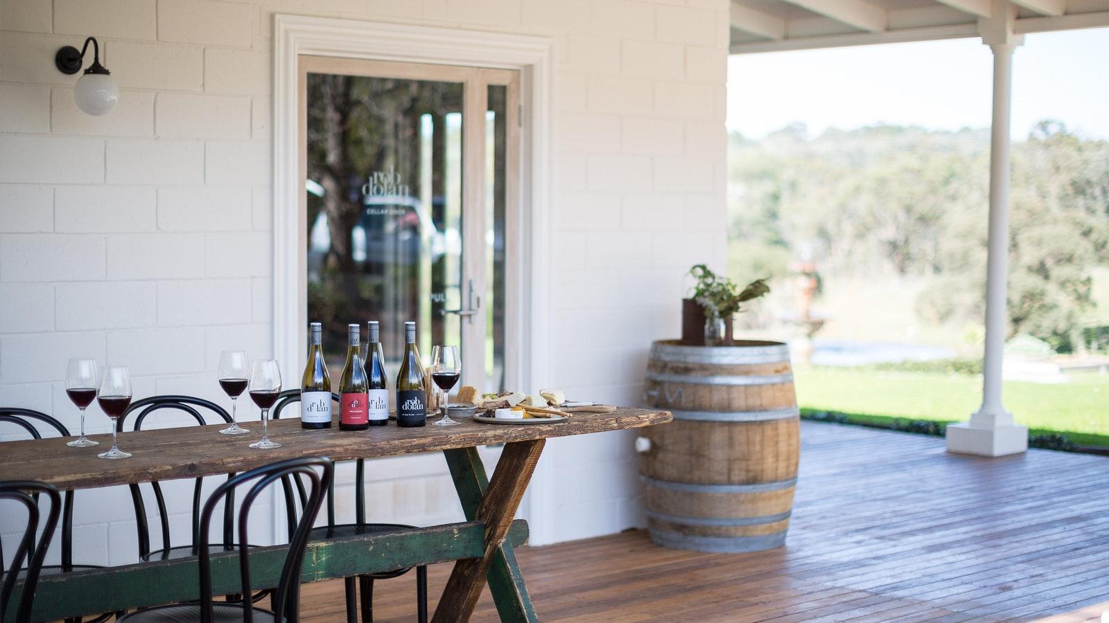 Rob Dolan Wines Deck
