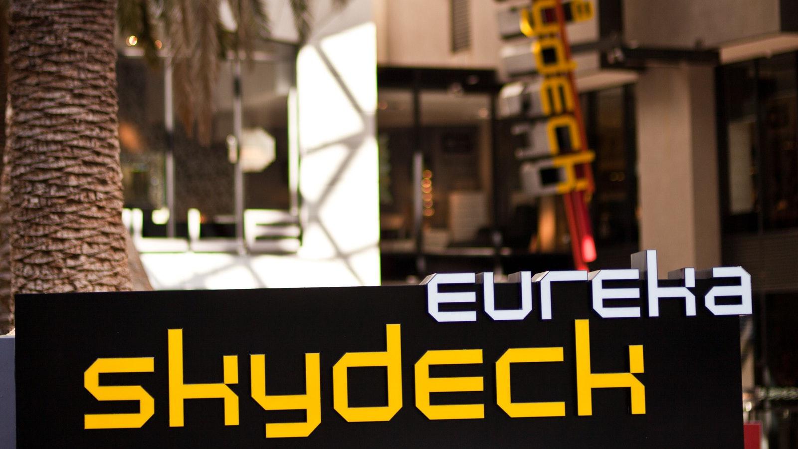 Eureka Skydeck Main Entrance
