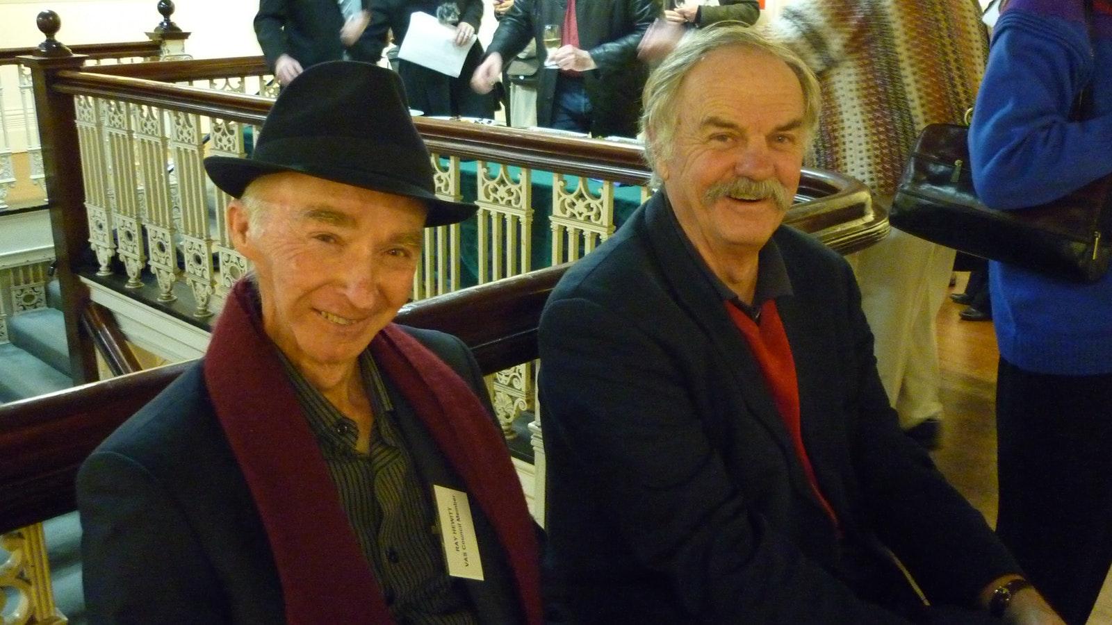 Ray Hewitt and Geoff Watson