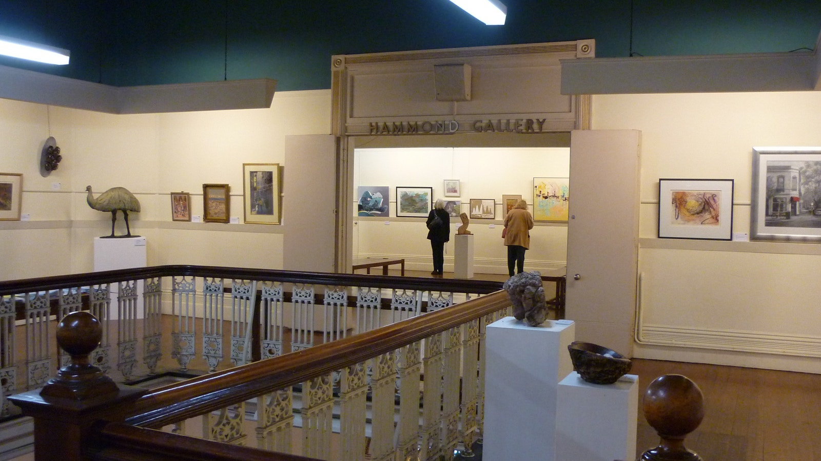 McCubbin Gallery and Frater Gallery