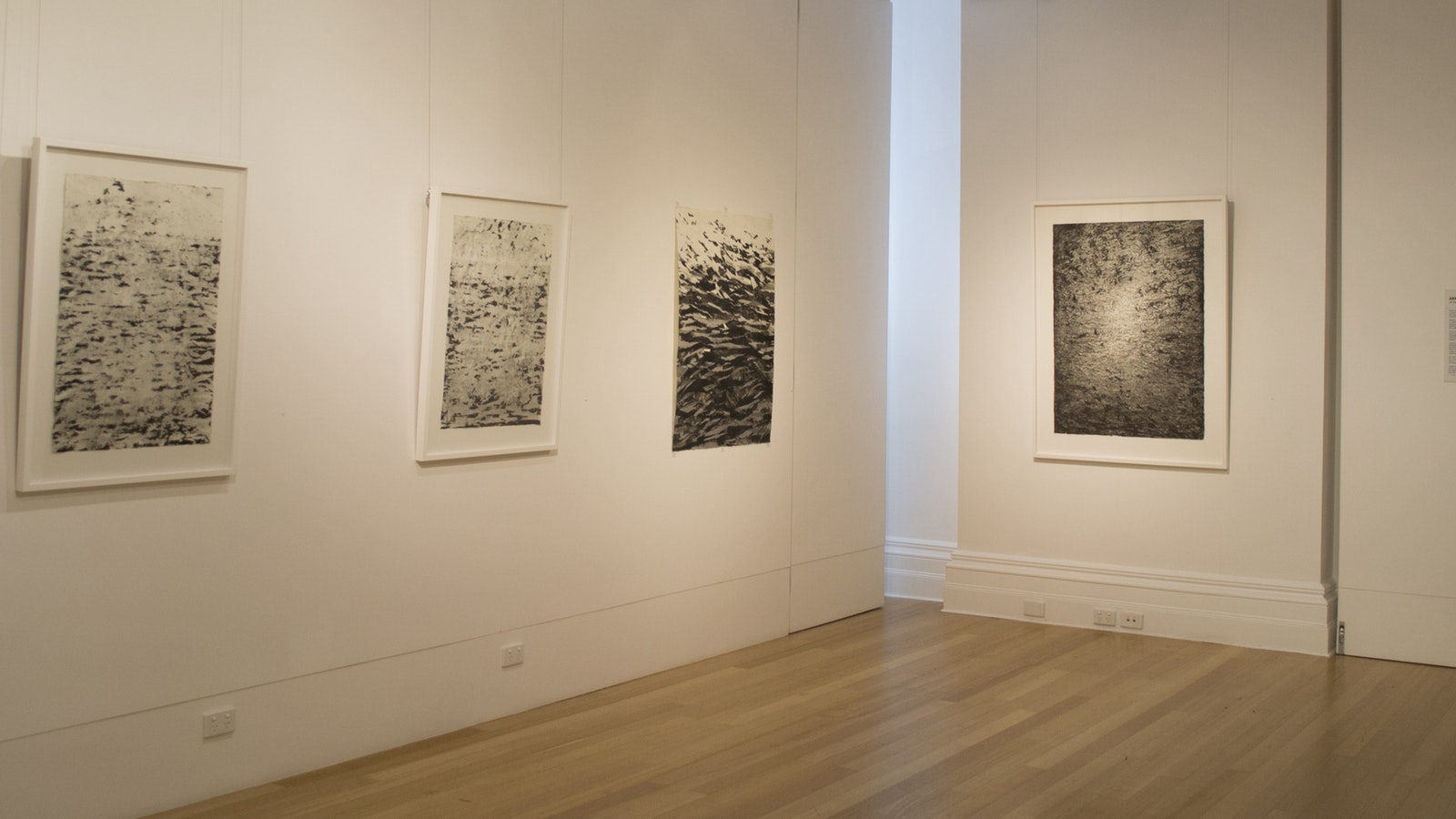 Installation view featuring works by Anne Judell