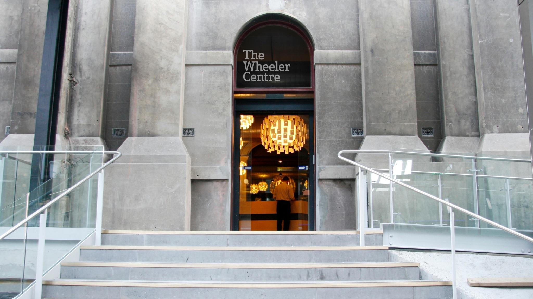 Wheeler Centre entrance