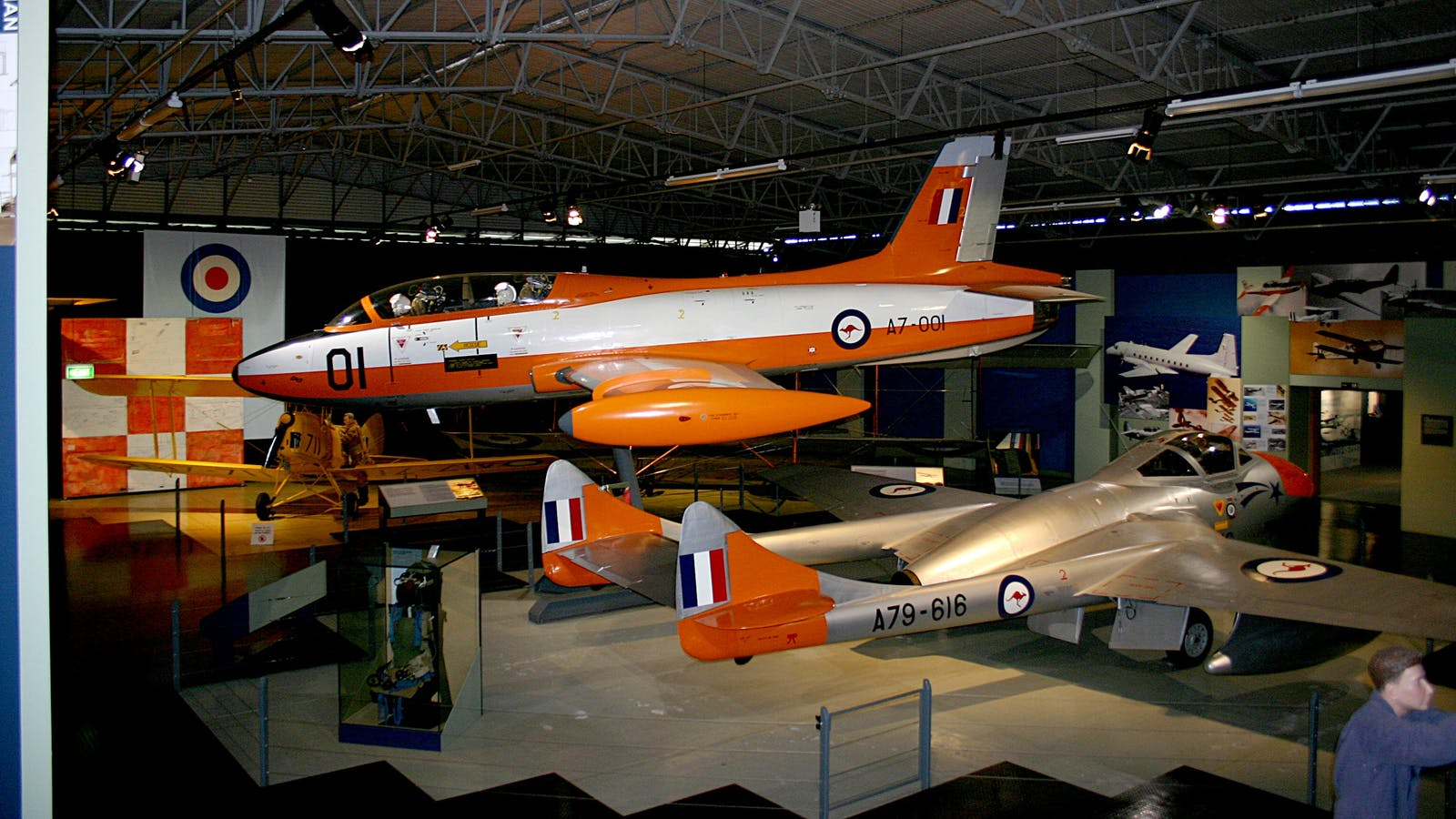 Training Hangar display - Macchi aircraft