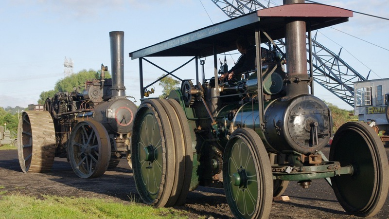 Steam Traction at its best