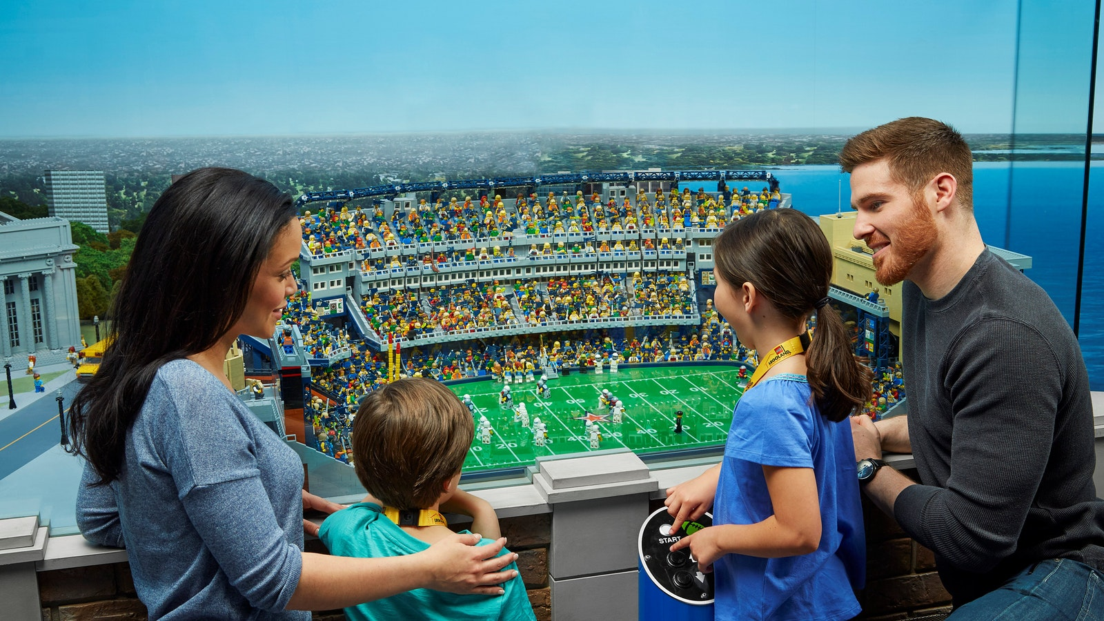 Sneak a peek at the spectacular MINILAND. It's built from A LOT of bricks: over 1.5 million!