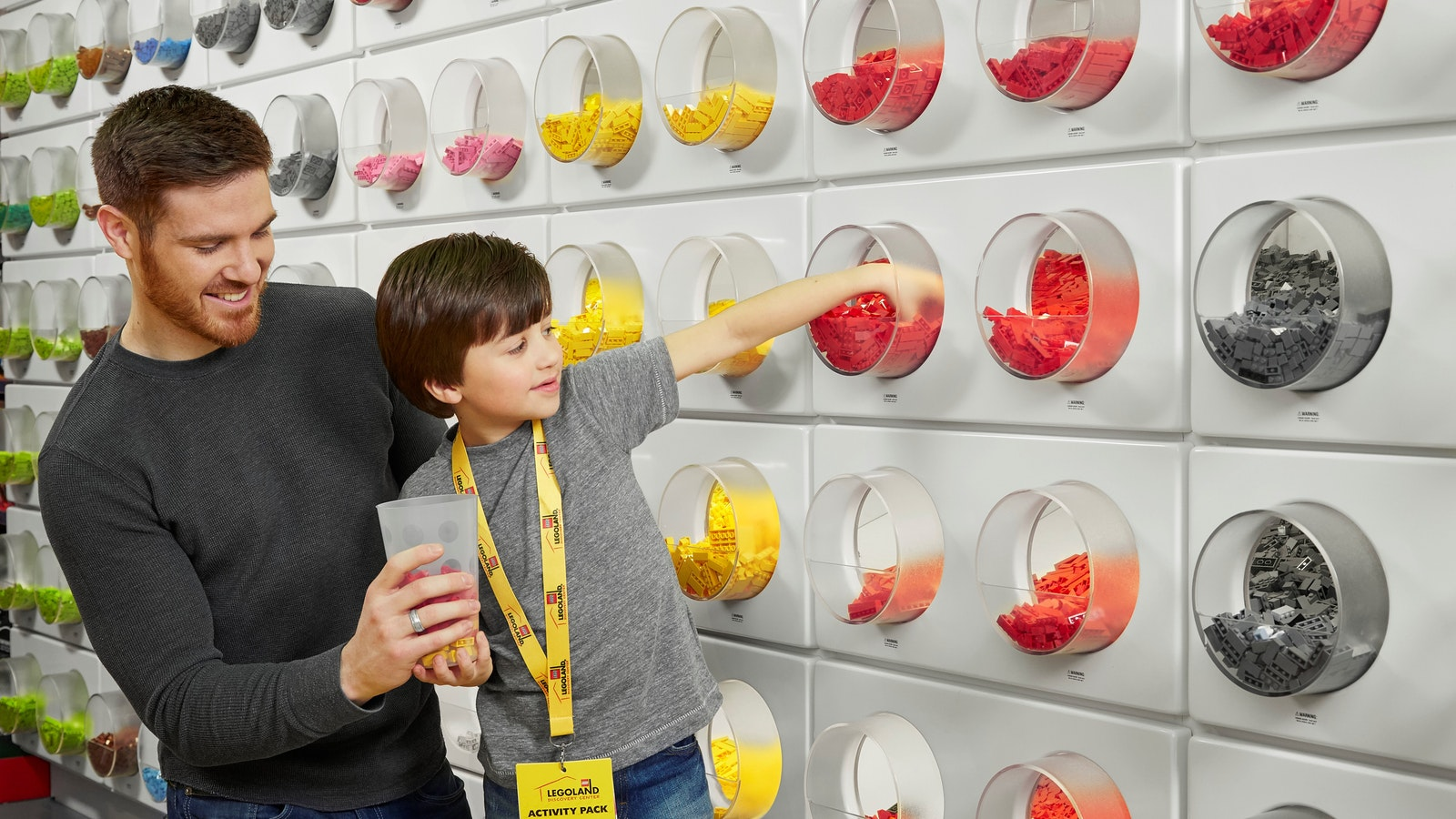 Take home a souvenir from your LEGO adventure or pop by any time!