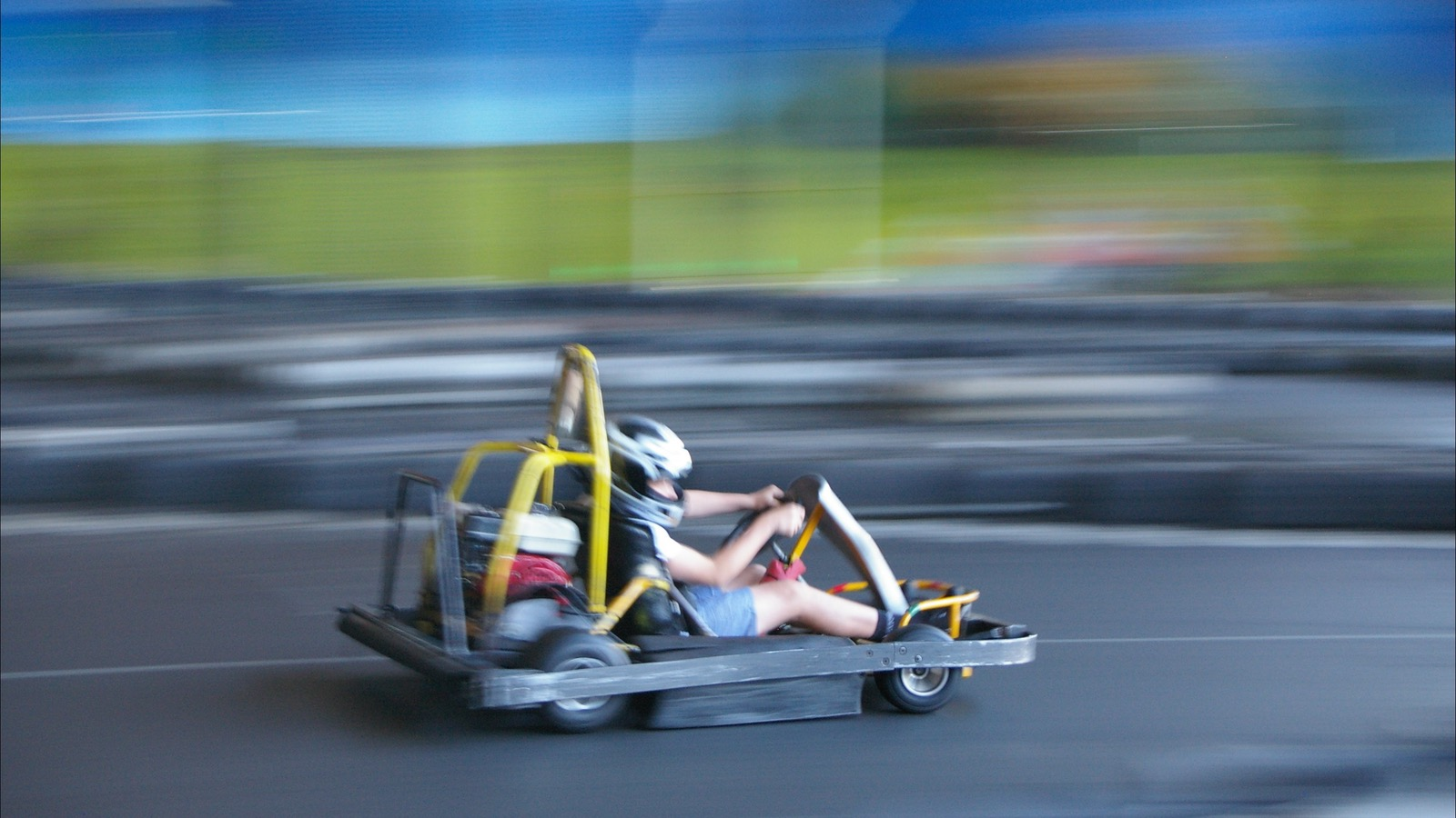 Indoor Go kart racing, fun for all ages and all abilities