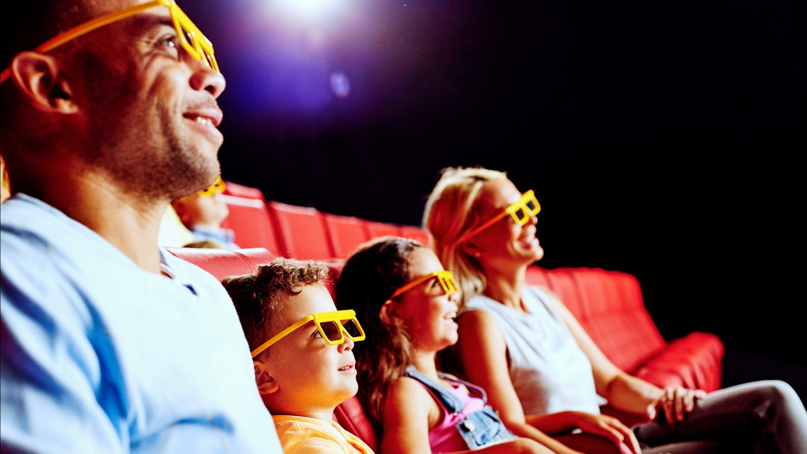 Watch whilst a 3D film changes before your eyes to a 4D cinema experience with rain, wind and snow
