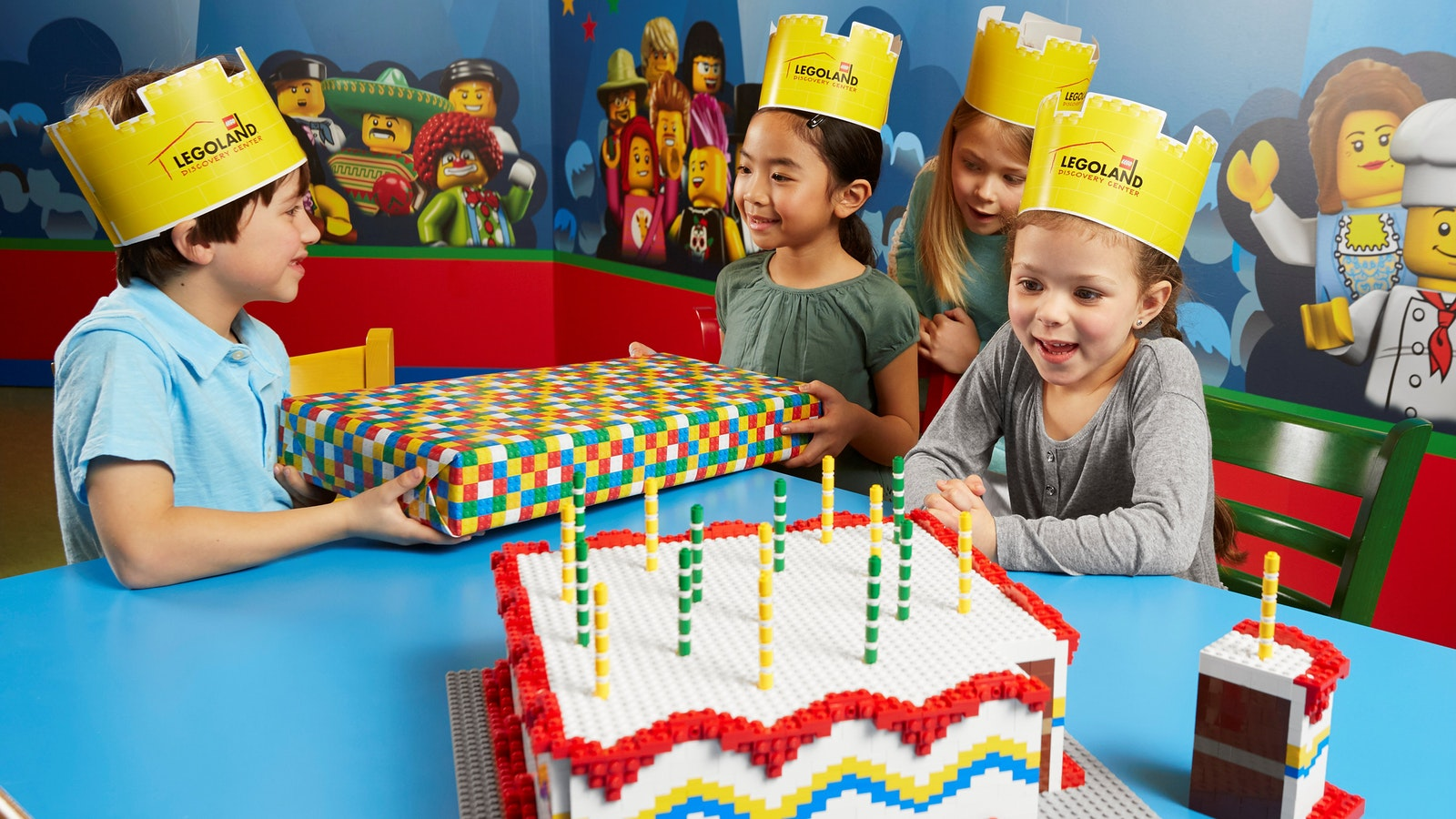 Celebrate with a LEGO® Birthday party at LEGOLAND® Discovery Centre Melbourne!
