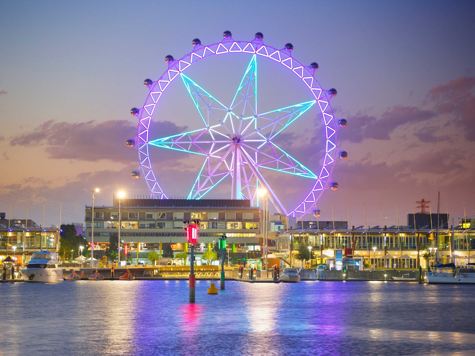 Melbourne Star's Light Show