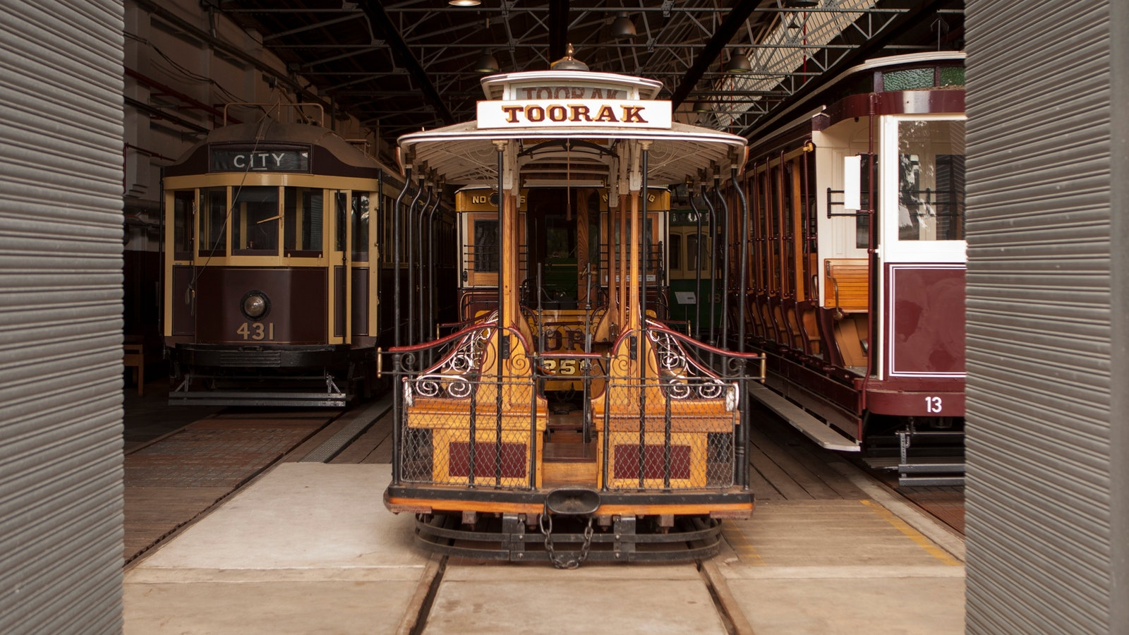 View an 1885-vintage Melbourne cable tram