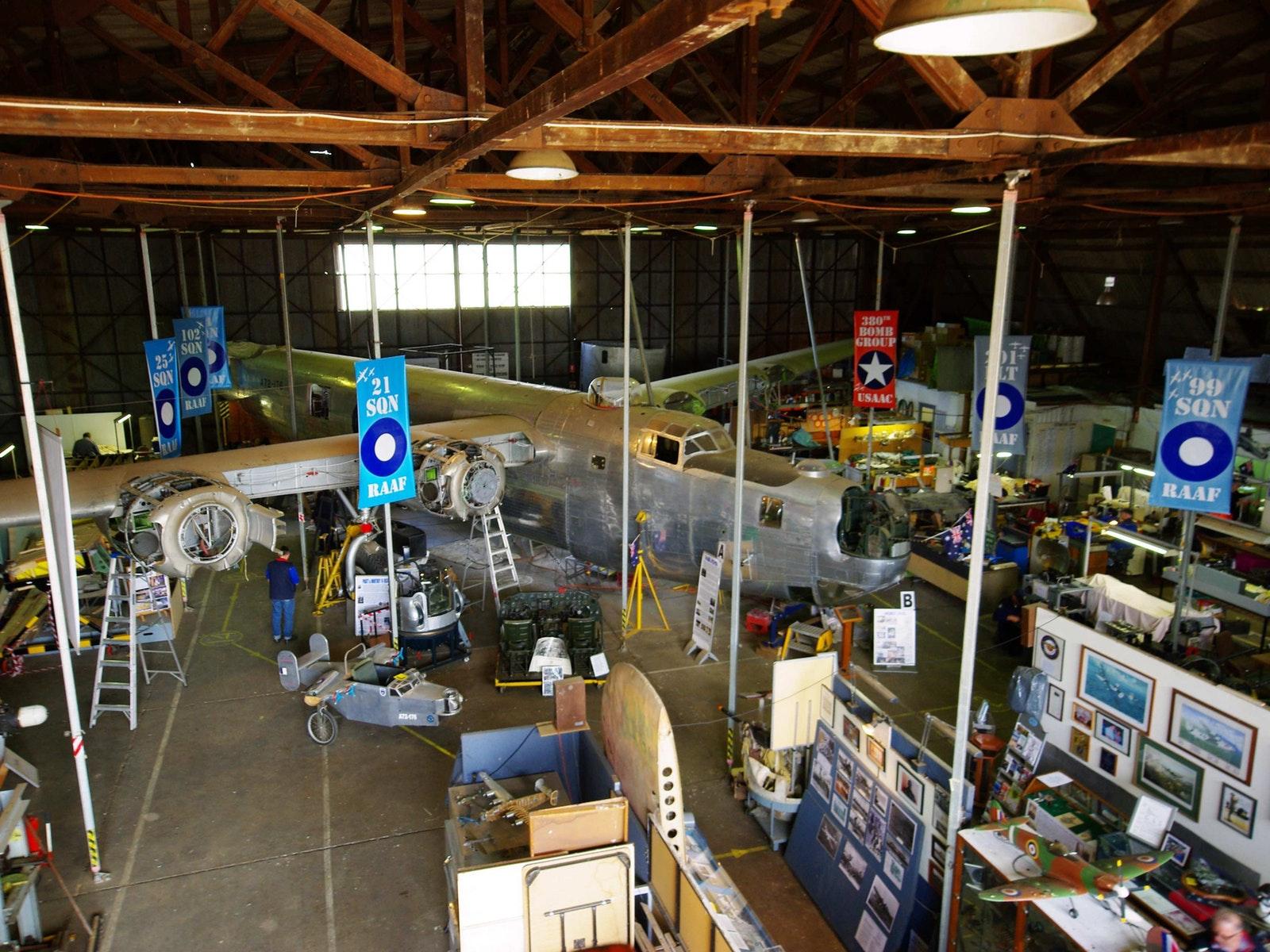 Restoration hangar