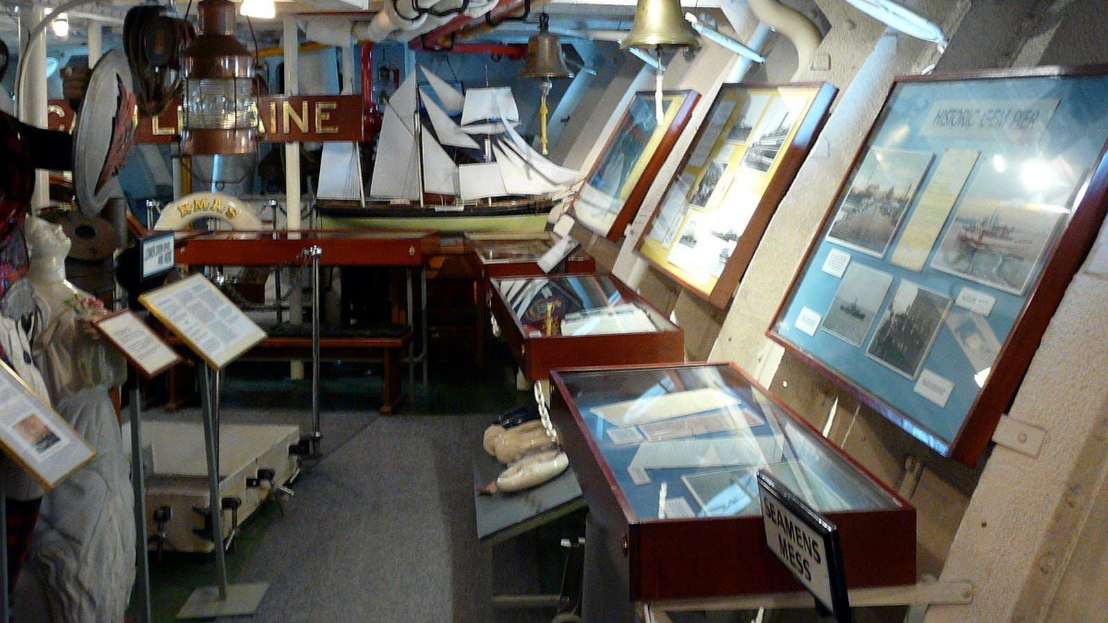 HMAS Castlemaine Museum Ship