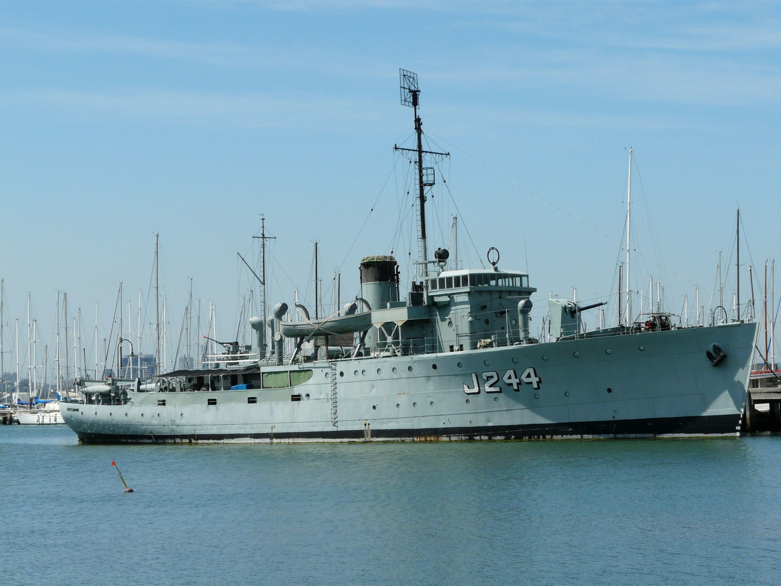 HMAS At Gem Pier, Williamstown