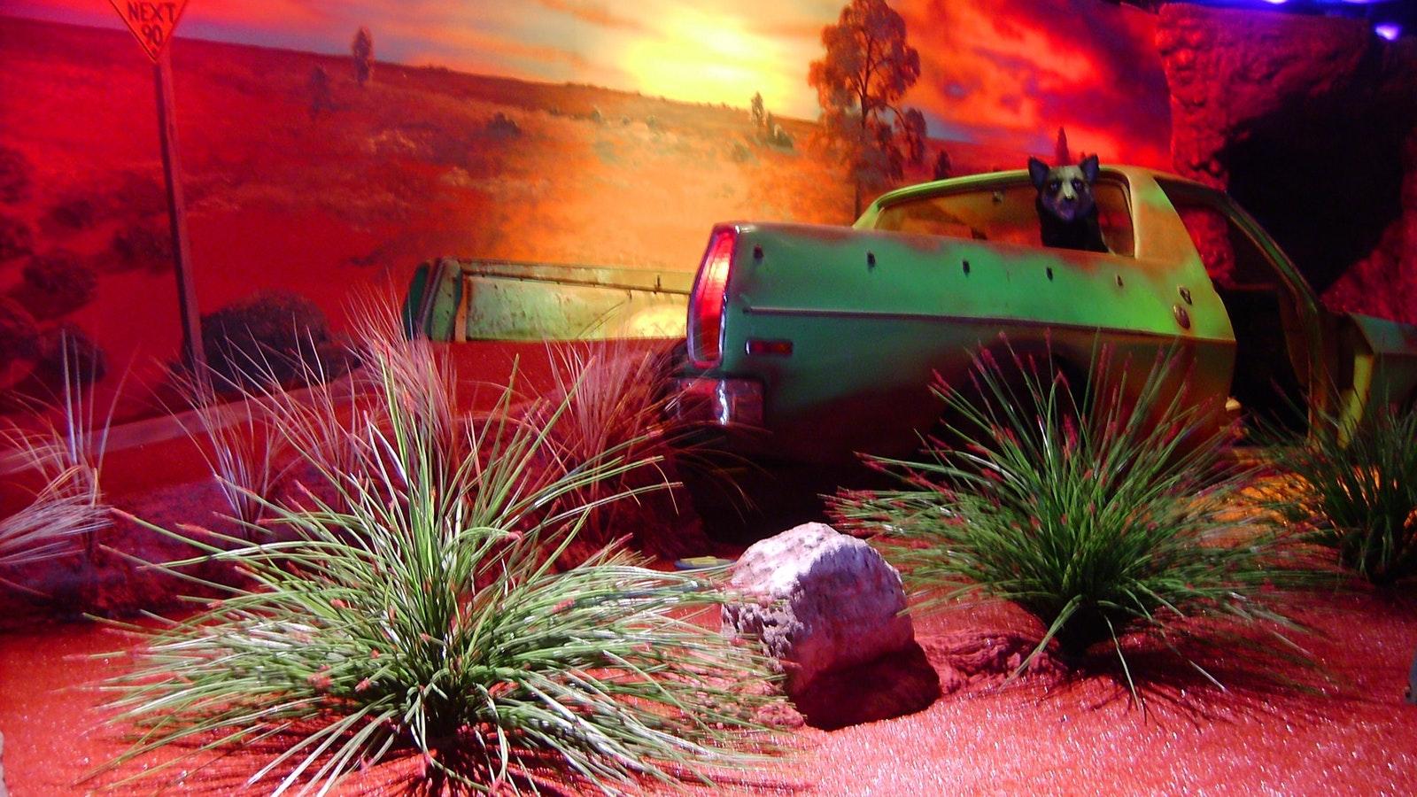 The Outback Australia minigolf