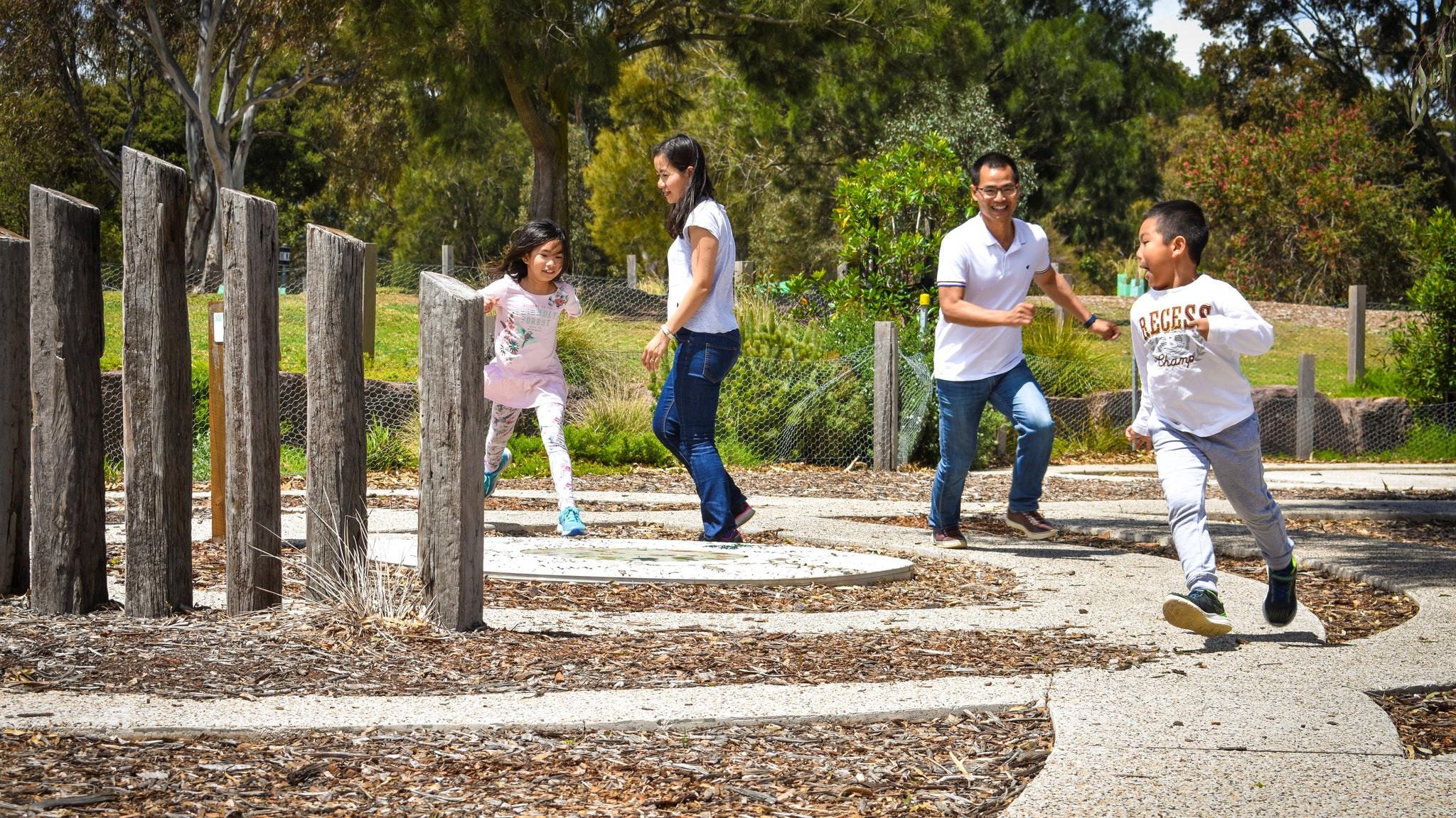 Brimbank Park playground