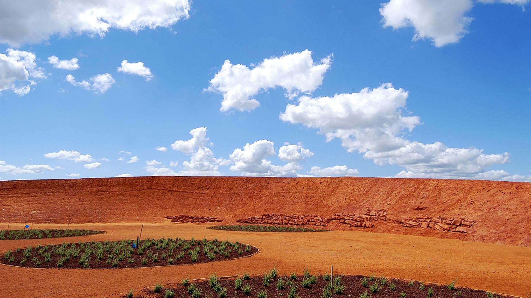 The Red Sand Garden