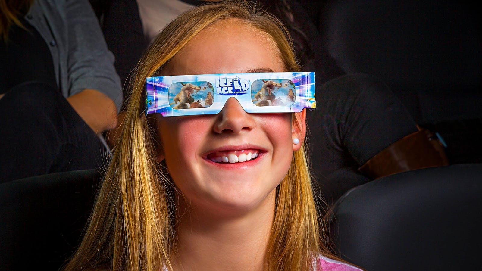 ICE AGE 4-D Cinema
