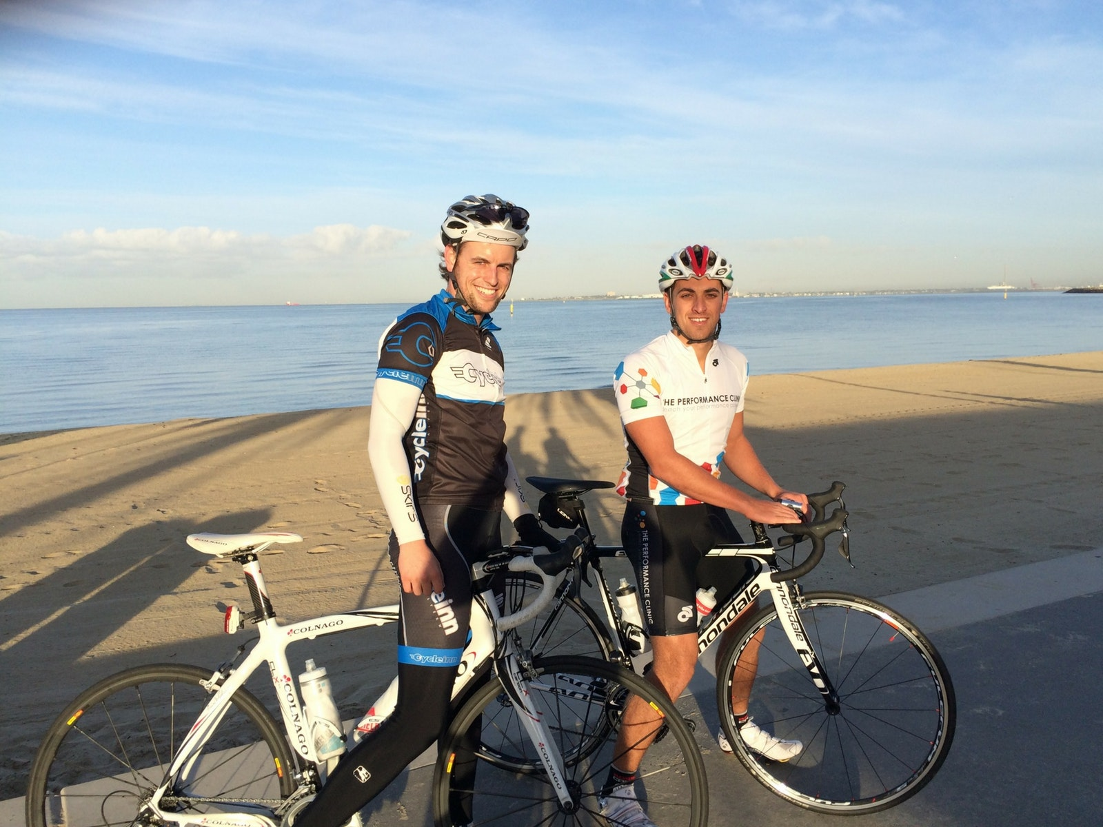 Livelo Guided Tour - Charlie and Paul on Beach Road at St Kilda
