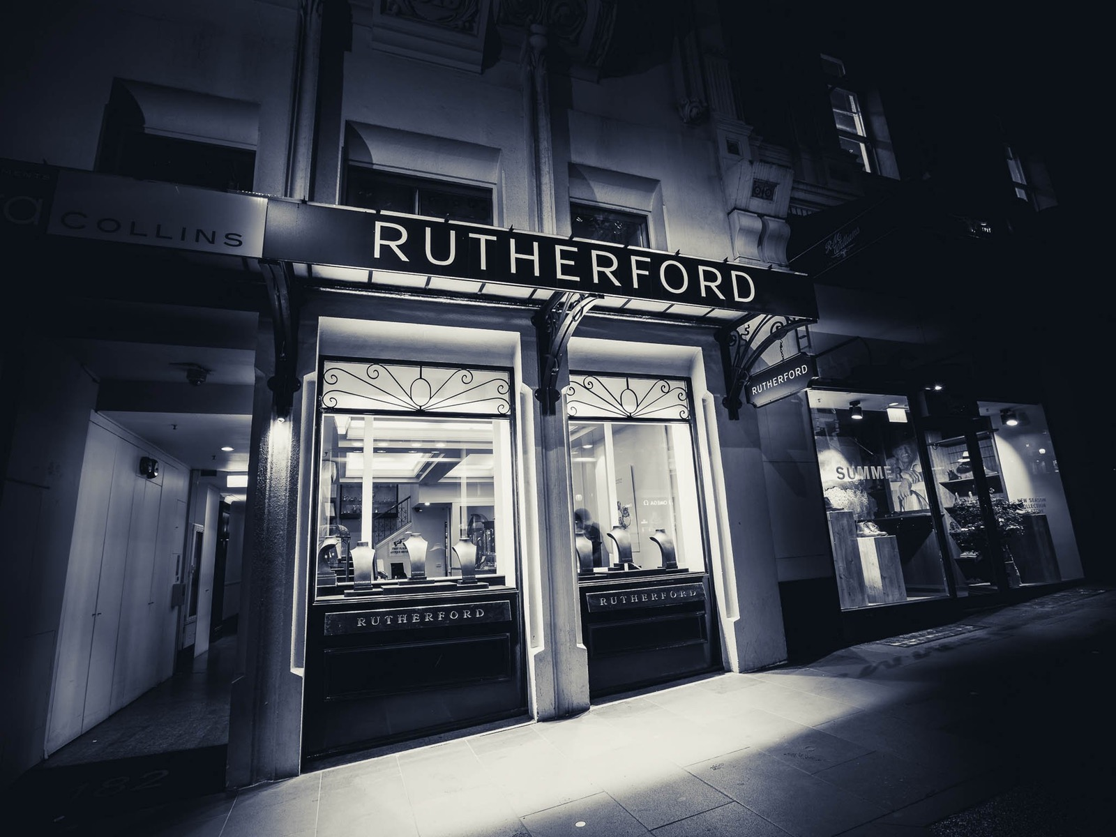 Rutherford Antiques Collins St store