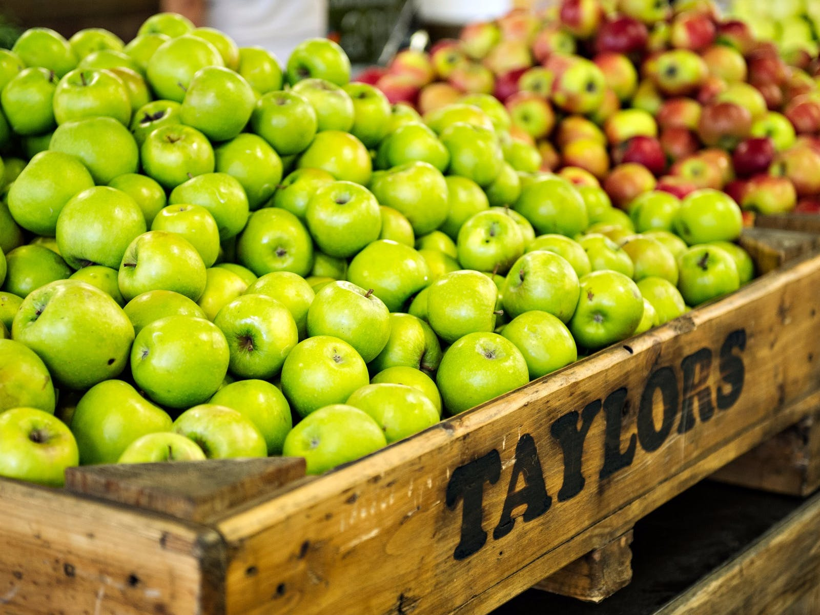 Apples from Taylors Orchards