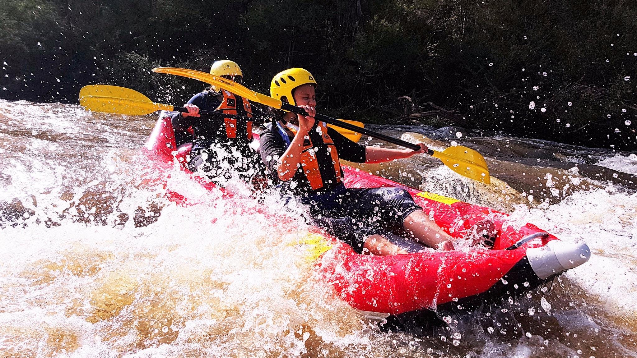 Sports rafting