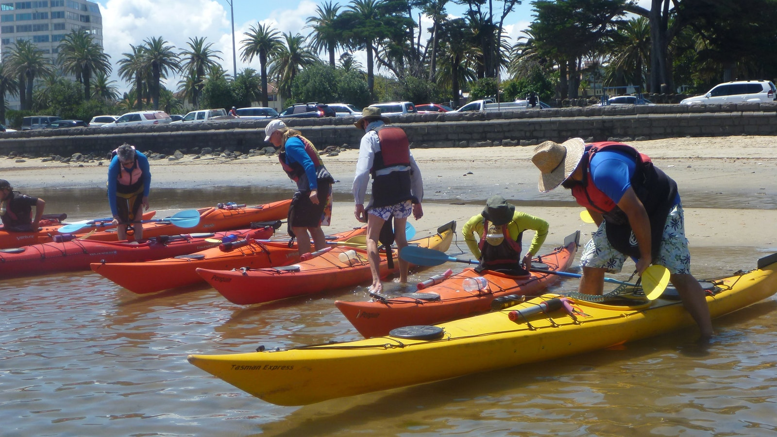 Introduction to Sea Kayaking Course at St Kilda, Melbourne