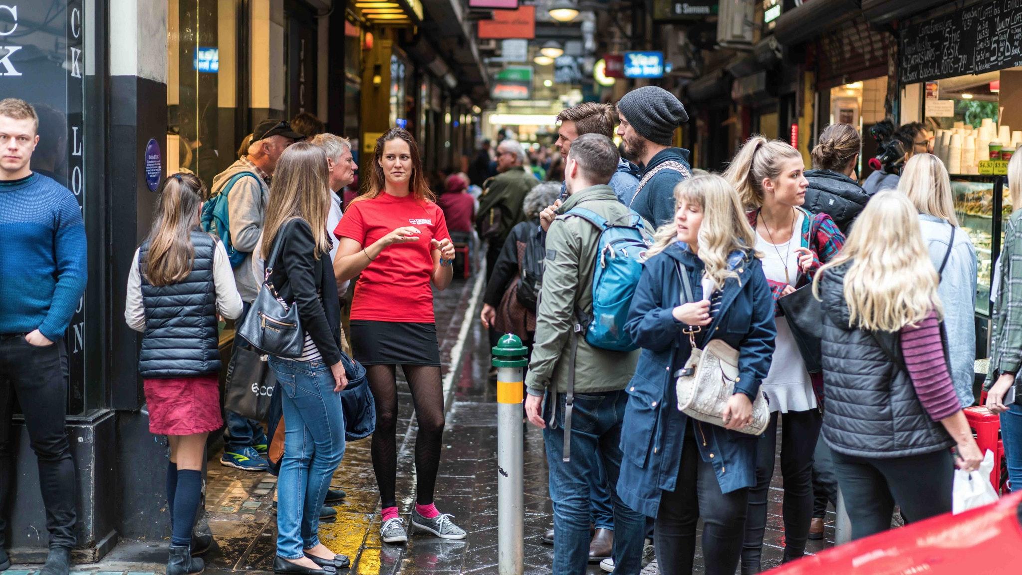 Laneway history on Melbourne Bites & Sights