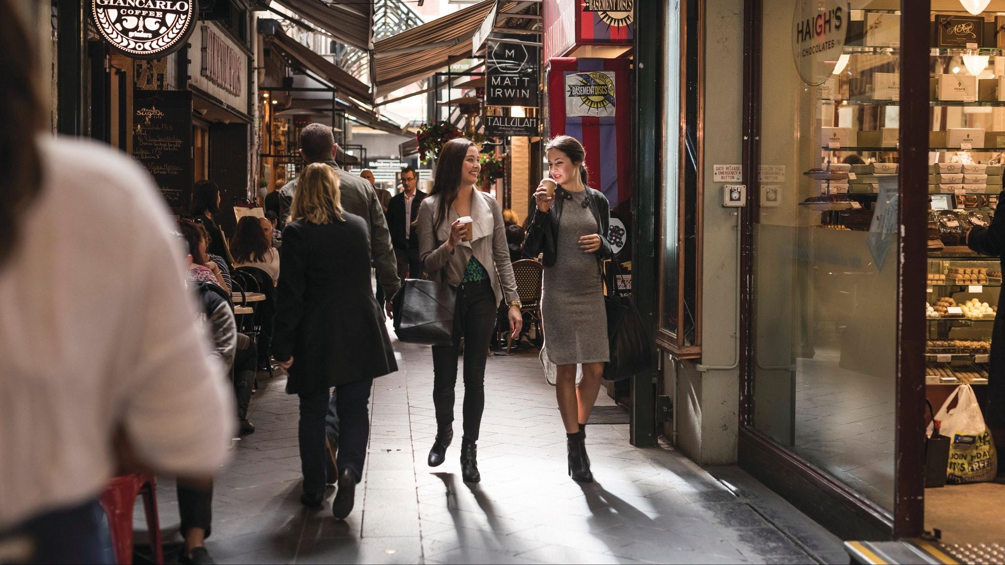 Melbourne Laneways and Arcades