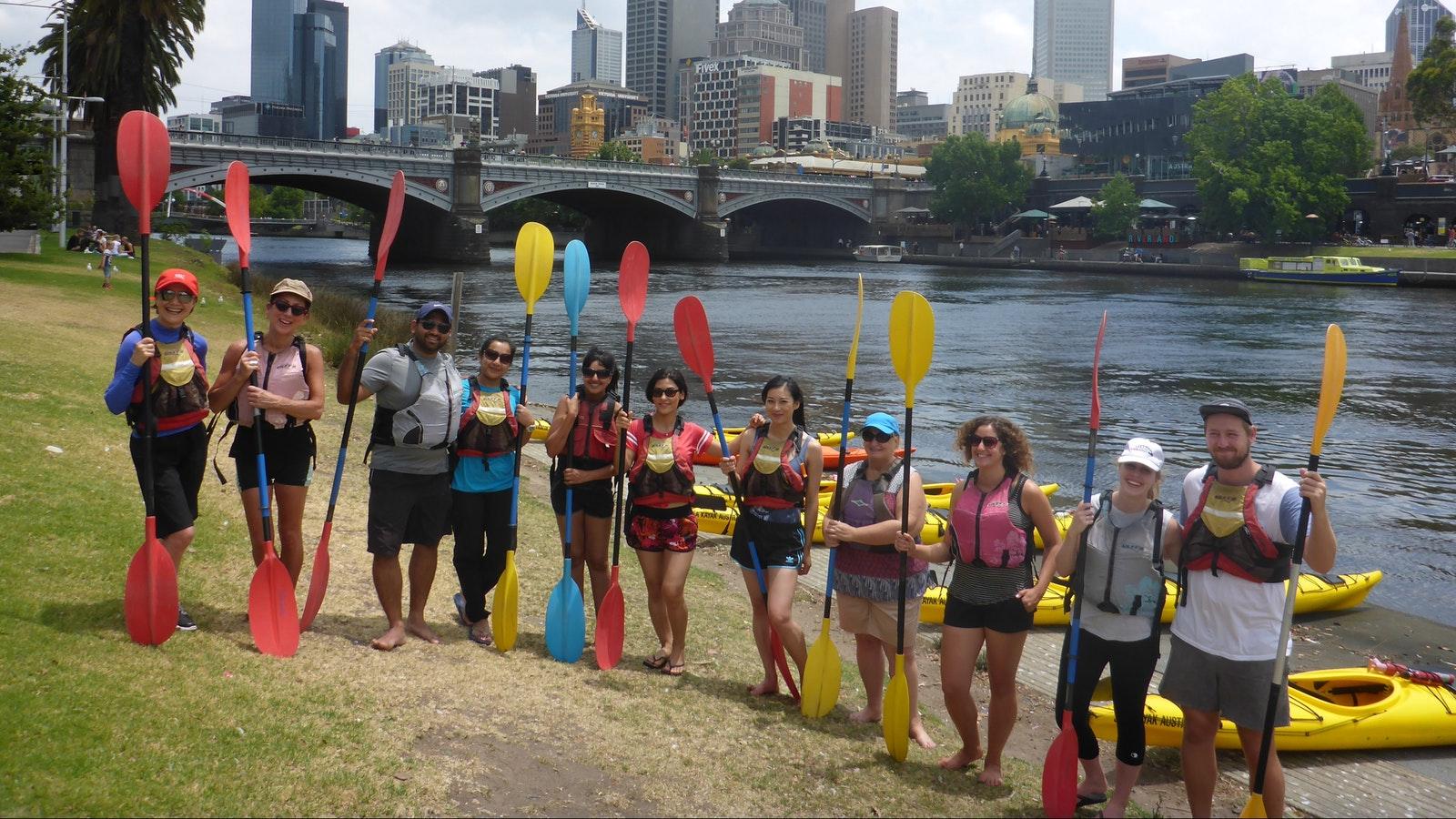 Melbourne City Kayak Tour