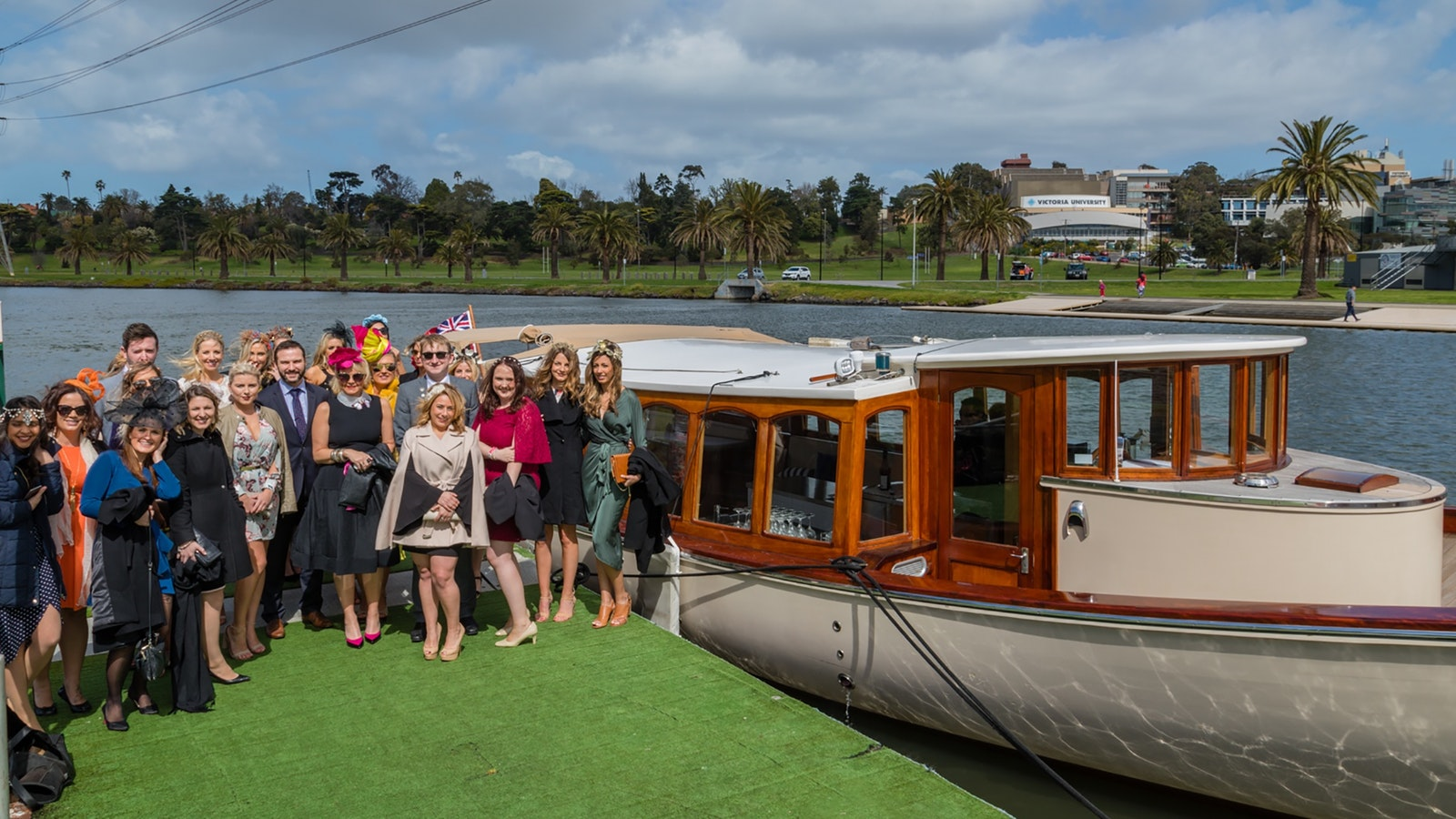 Take in the sights of Melbourne city with a  river tour