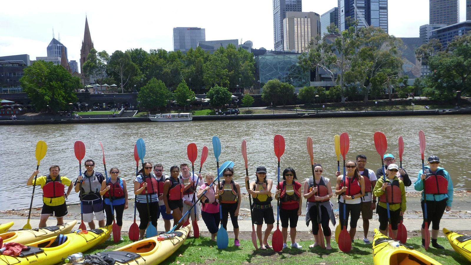 Melbourne City Delight Kayak Tour