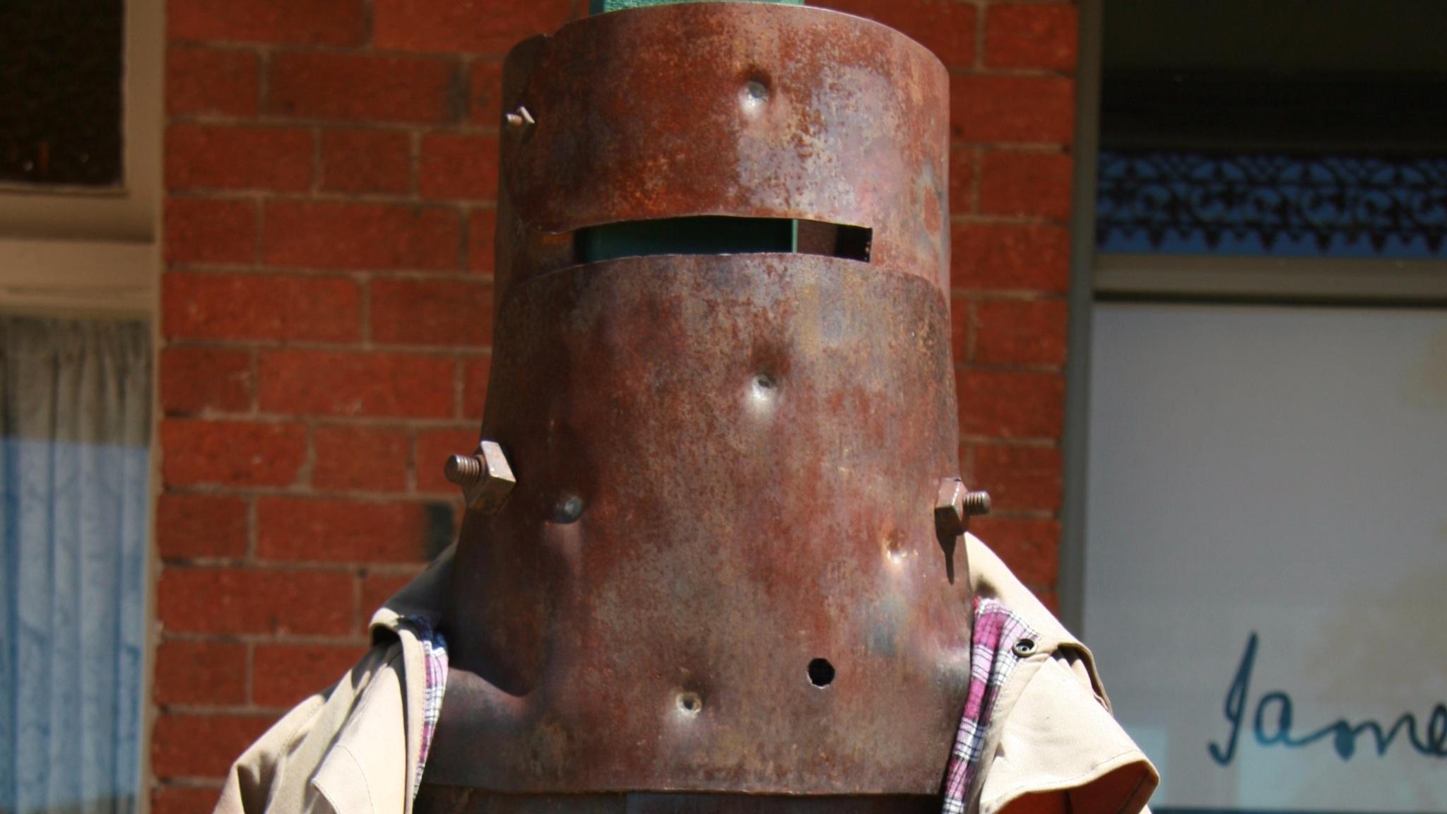 Ned Kelly replica armour