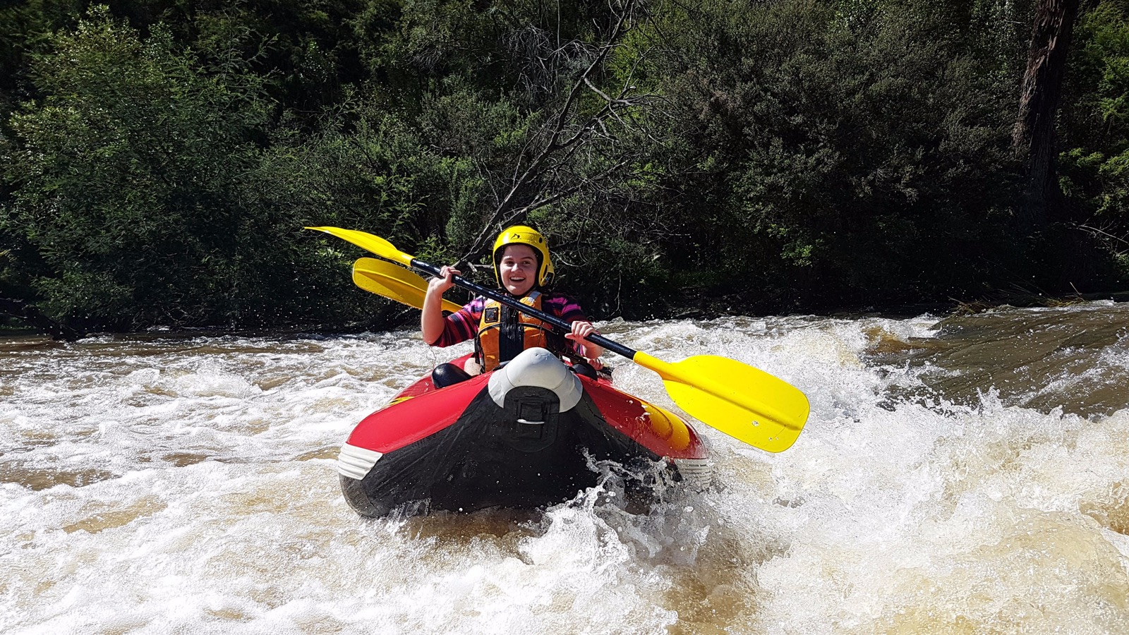 Sports rafting yarra river Melbourne Victoria