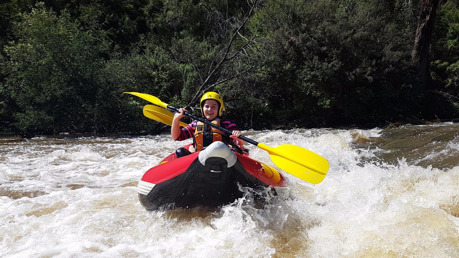 Sports rafting yarra river Melbourne Victoria