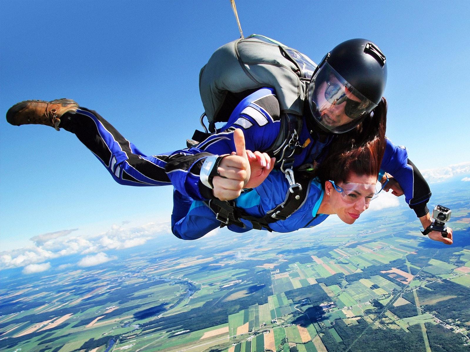 Skydiving in Great Ocean Road