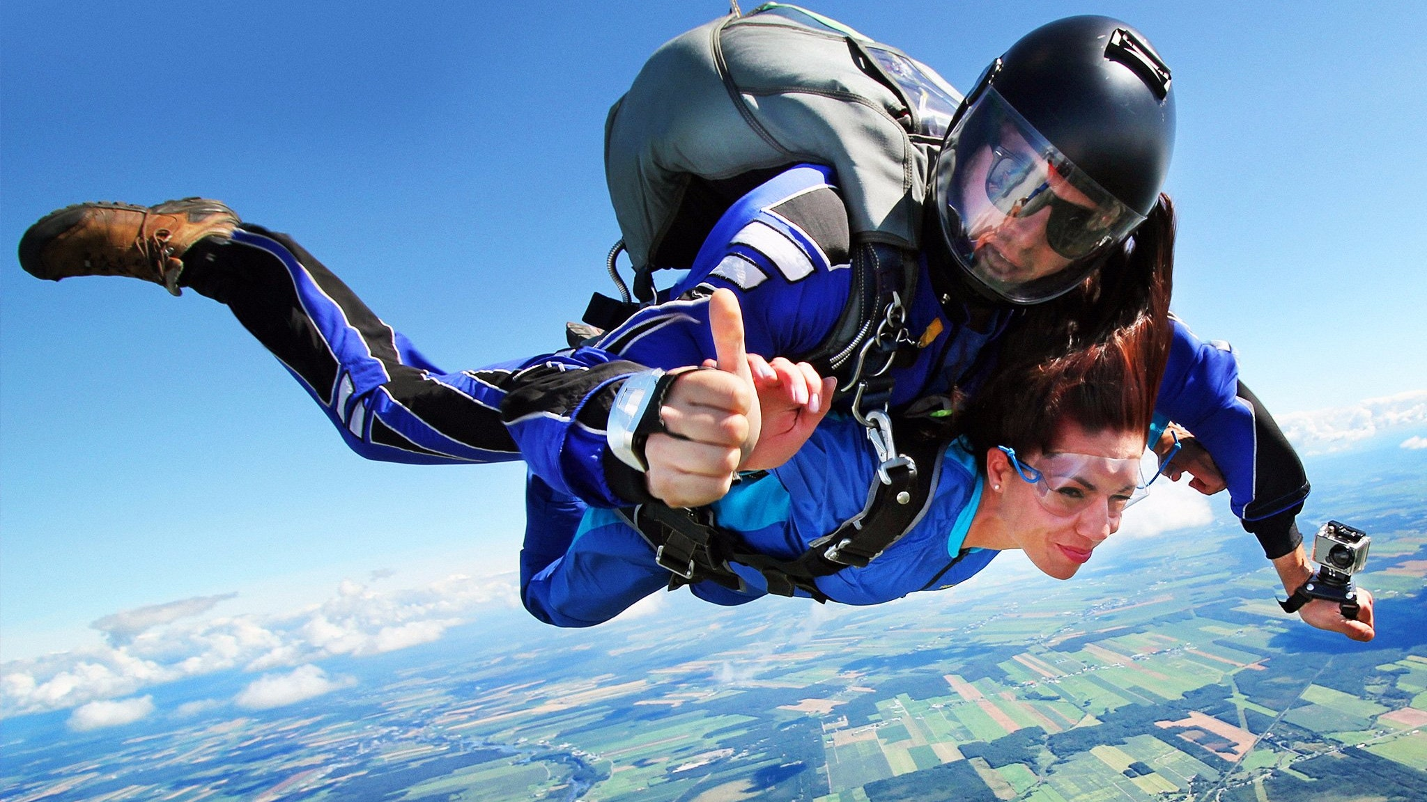 Skydiving over the Great Ocean Road