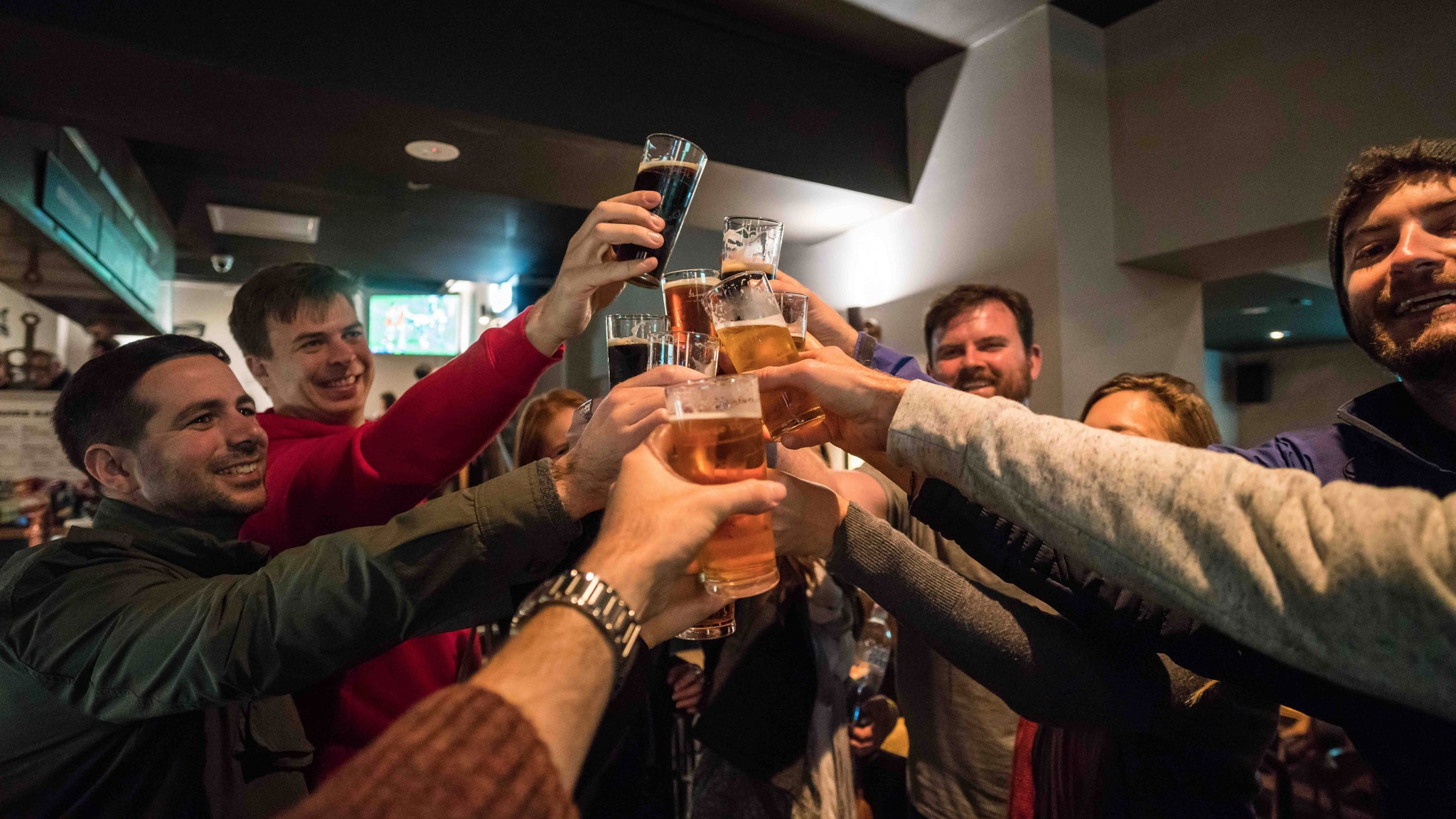 Beer tasting on Booze Makes History Better