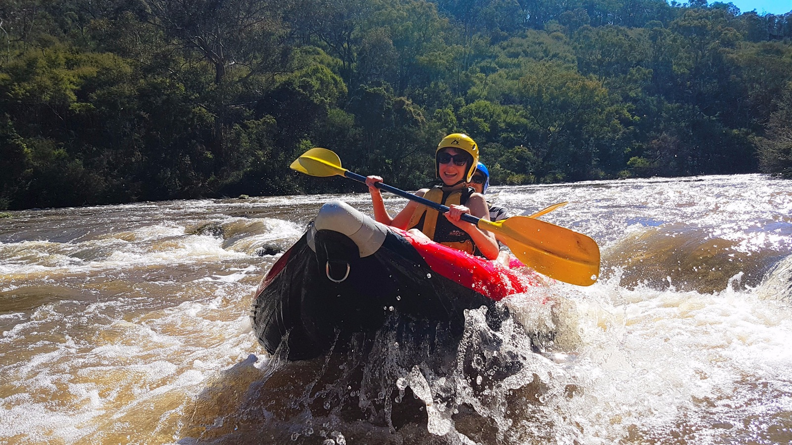 Sports river rafting Melbourne Victoria